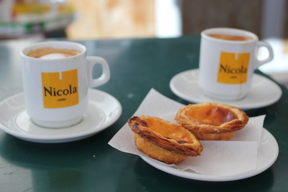 You can't visit Portugal without having a Pastel de nata (three a day keeps the...).