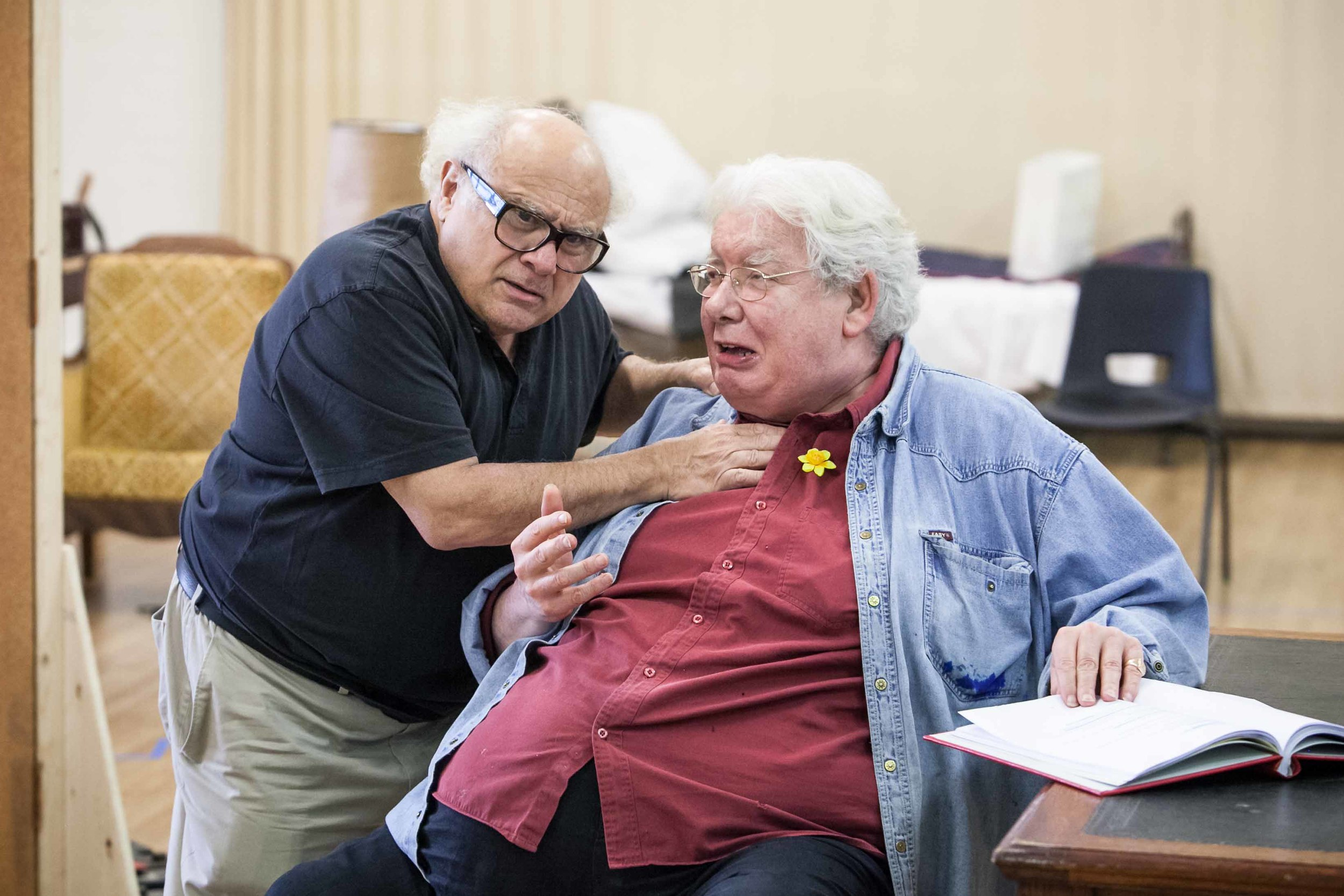 Danny DeVito and Richard Griffiths in The Sunshine Boys