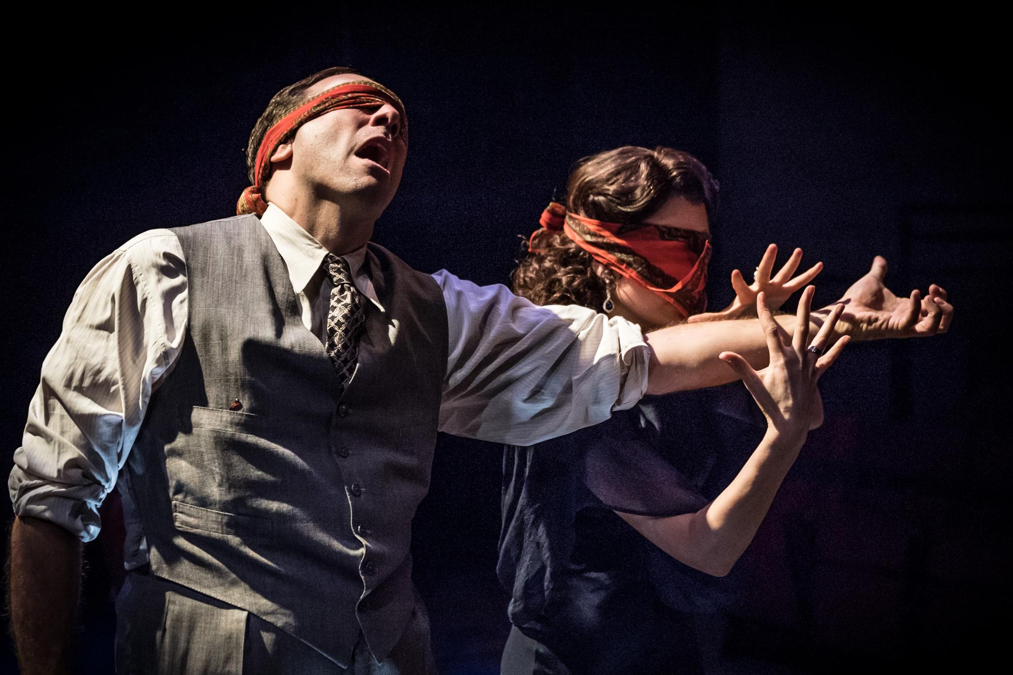 Describe the Night • Hampstead Theatre • Dir. Lisa Spirling