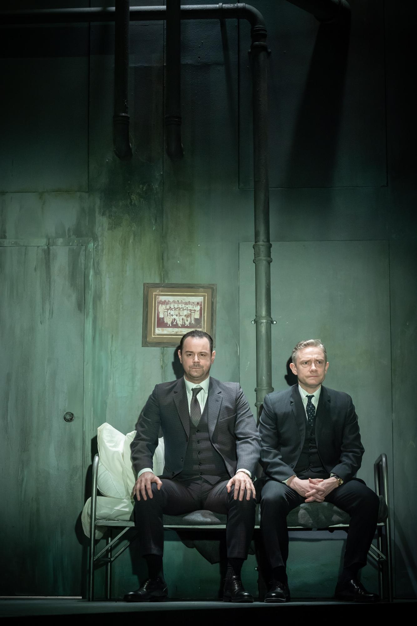 The Dumb Waiter • Harold Pinter Theatre • Dir. Jamie Lloyd