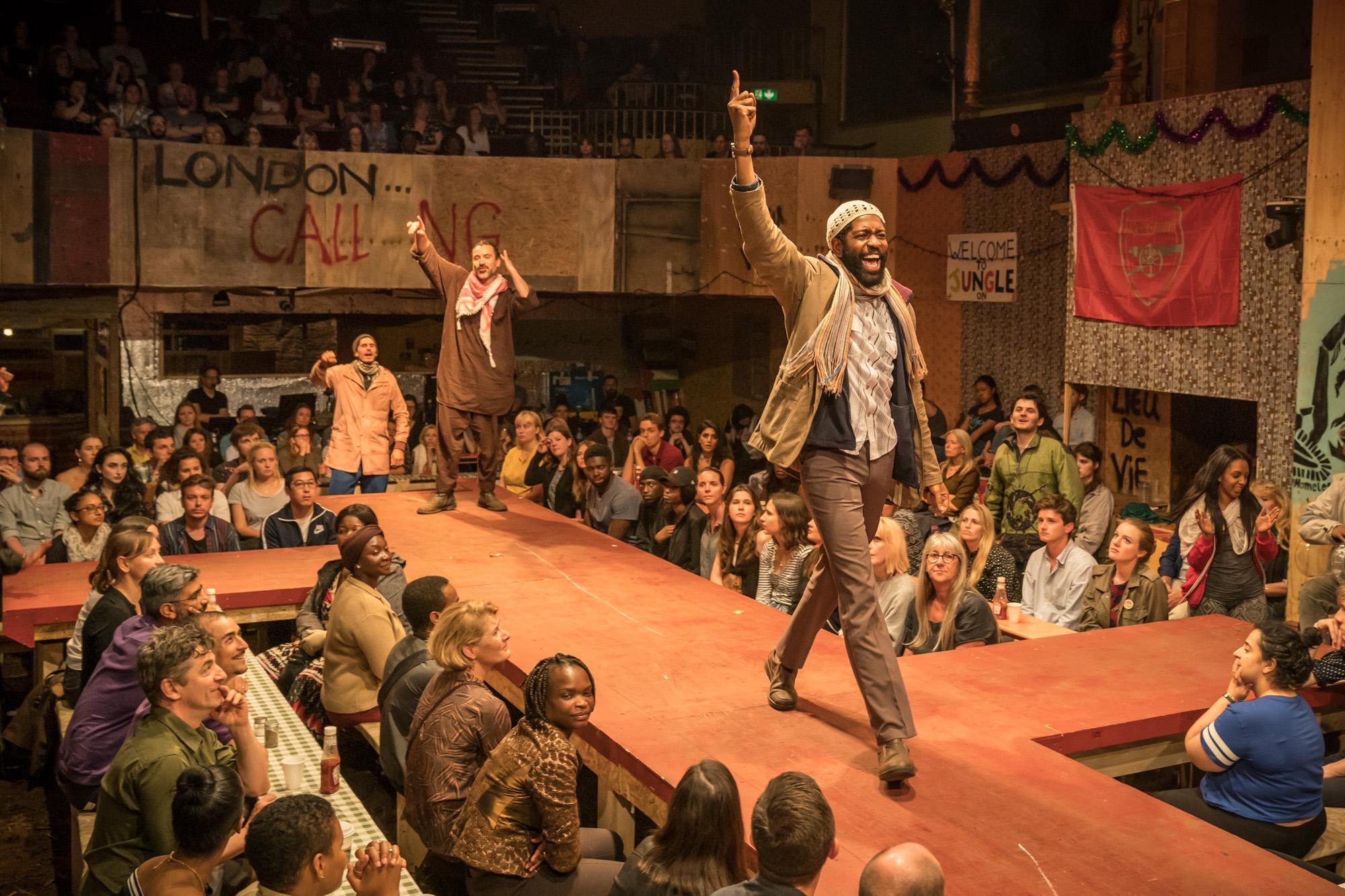 The Jungle • Playhouse Theatre • Dir. Stephen Daldry