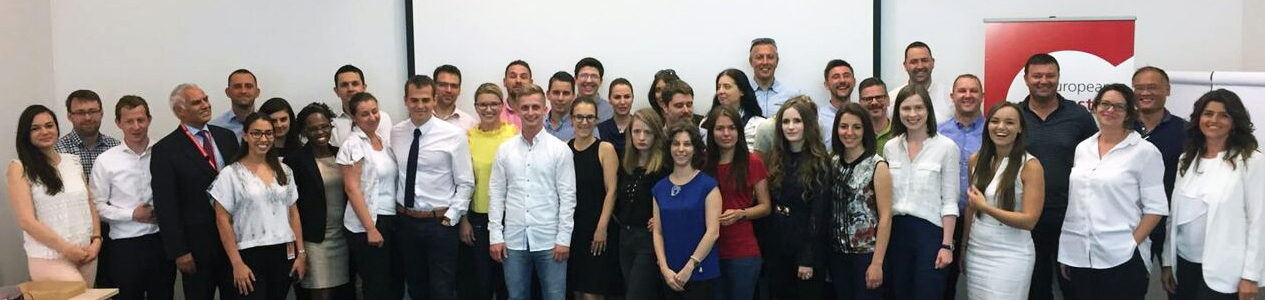 Participants in the Croatian training, now alumni of the Foundation