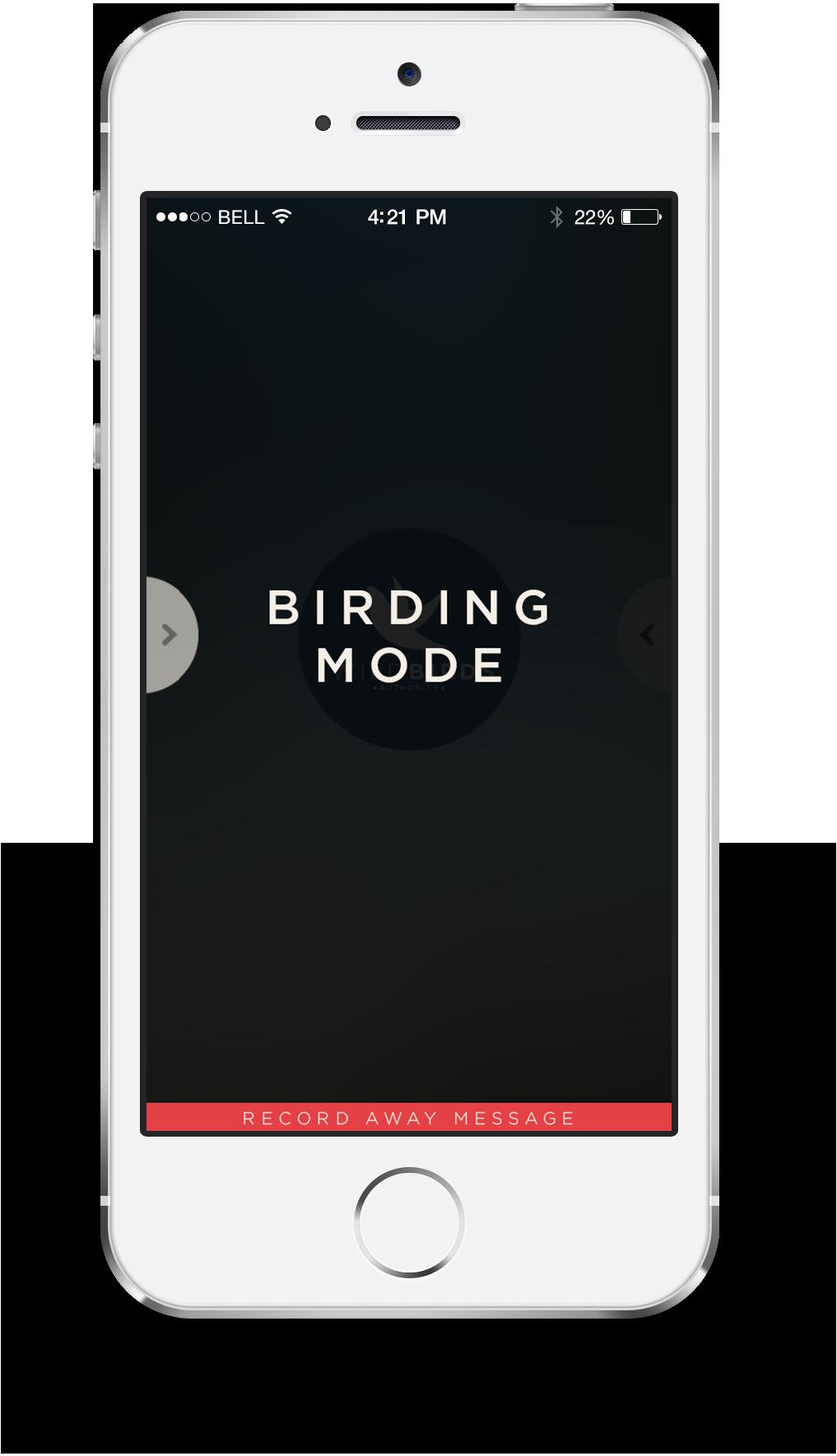 Birding mode