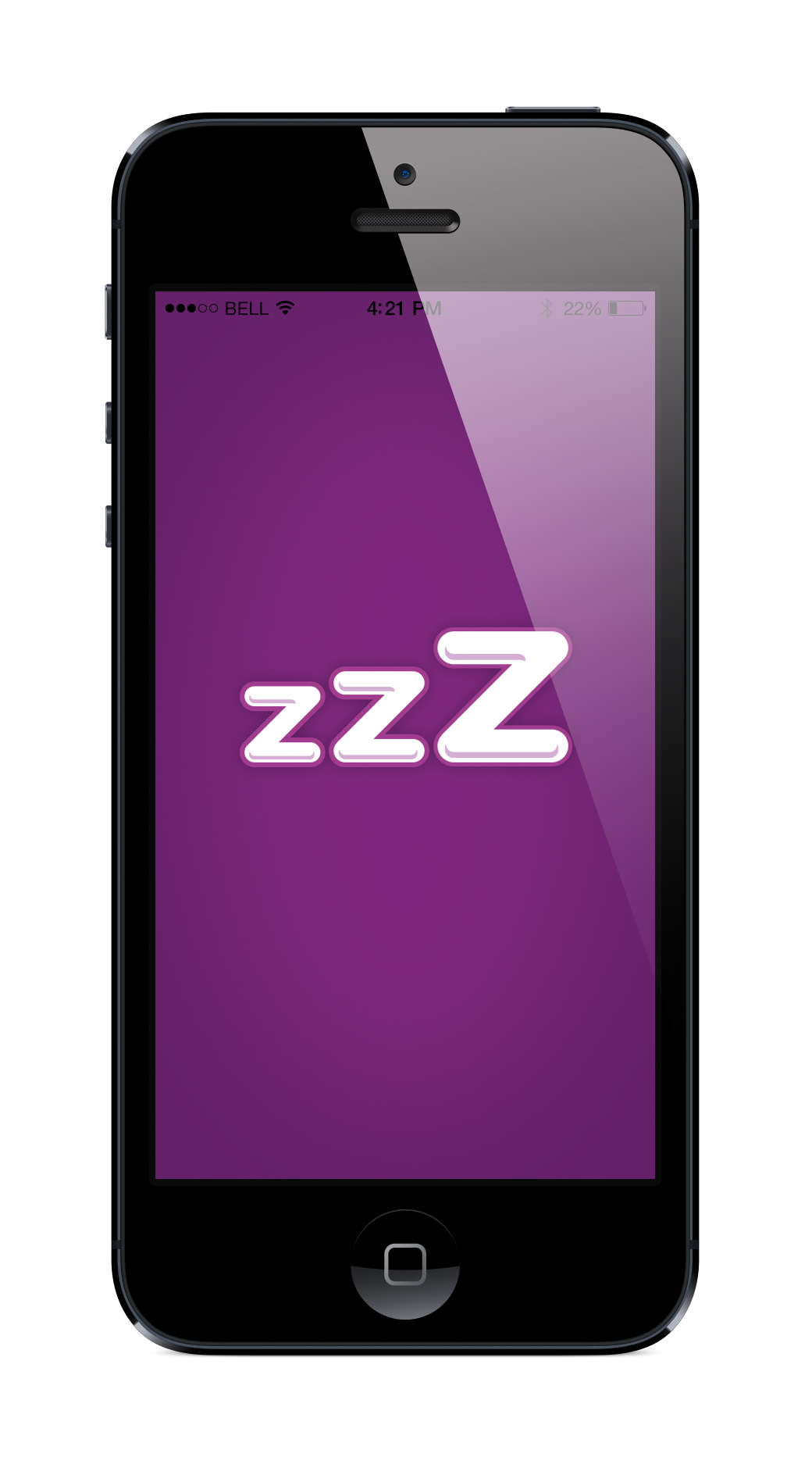 App works as an alarm o'clock that allows them to dismiss all calls, messages and notifications while sleeping.