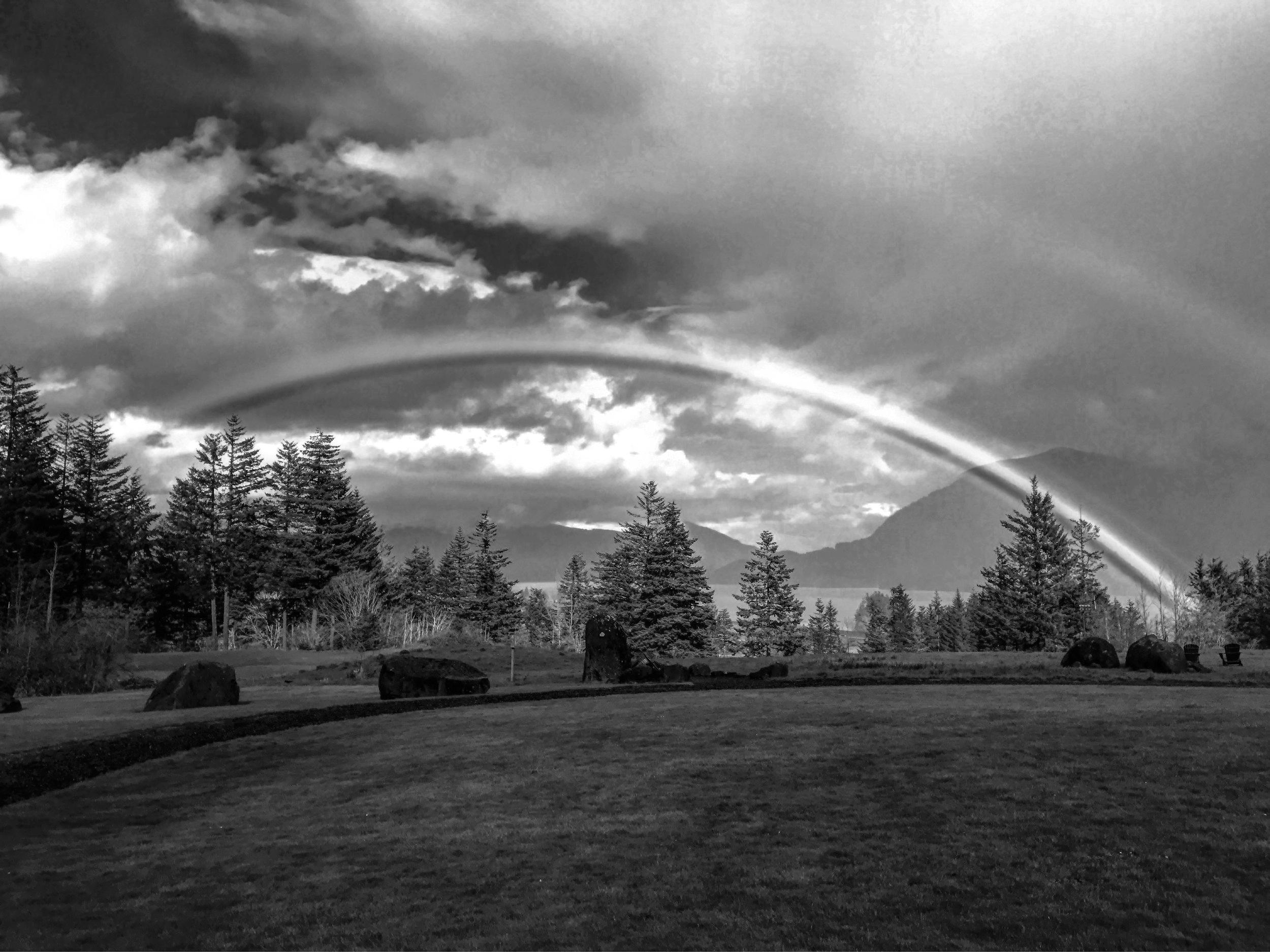 Skamania Lodge Rainbow