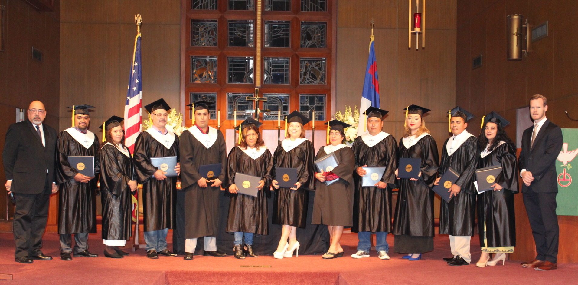 Instituto biblico linc graduates -- january 14, 2017
