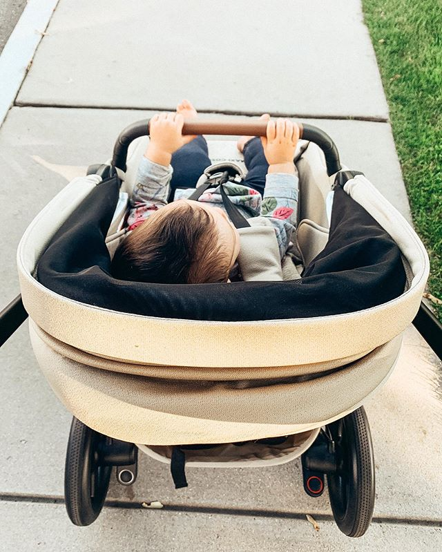"In LOVE with our new @maxicosiusa stroller! We got the Lila and absolutely love it. It's beautiful and rides like a dream. Love all the features and baby girl is so ""cosi!"" Mamas, check it out for real. Love. Thank you @jjfreeds! 🥰🙏🏼🥰 • • • #maxicosi #babygirl #babygear #babystuff #stroller #momlife #goodfriendsgoodtimes #mamaandbaby #fallvibes #newwheels #myfavoritethings #momblogger #lifestyleblogger"