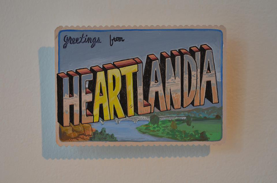 A postcard reminder of the joys of the heartland