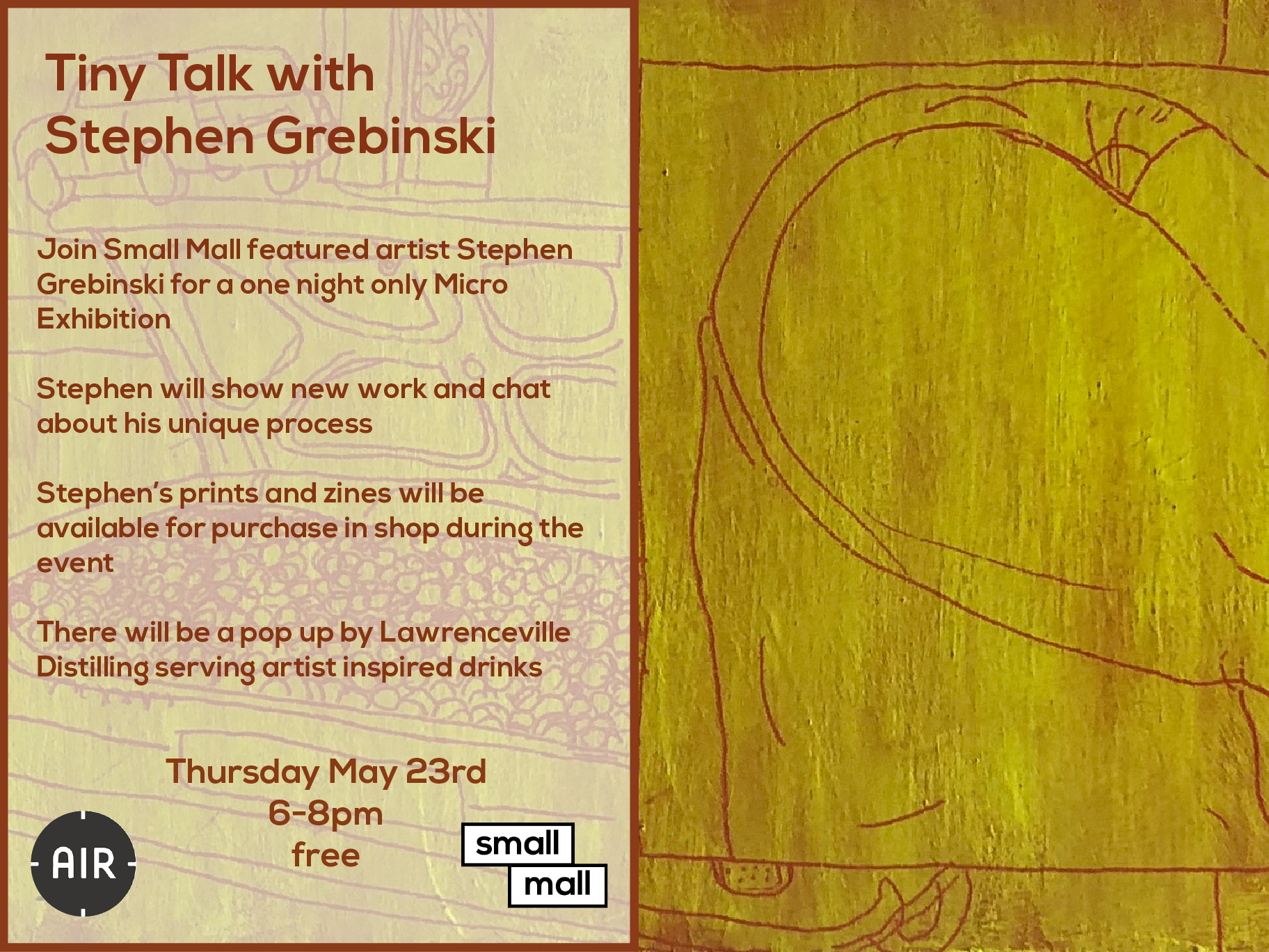 Stephen Grebinski joins us for our next Tiny Talk!