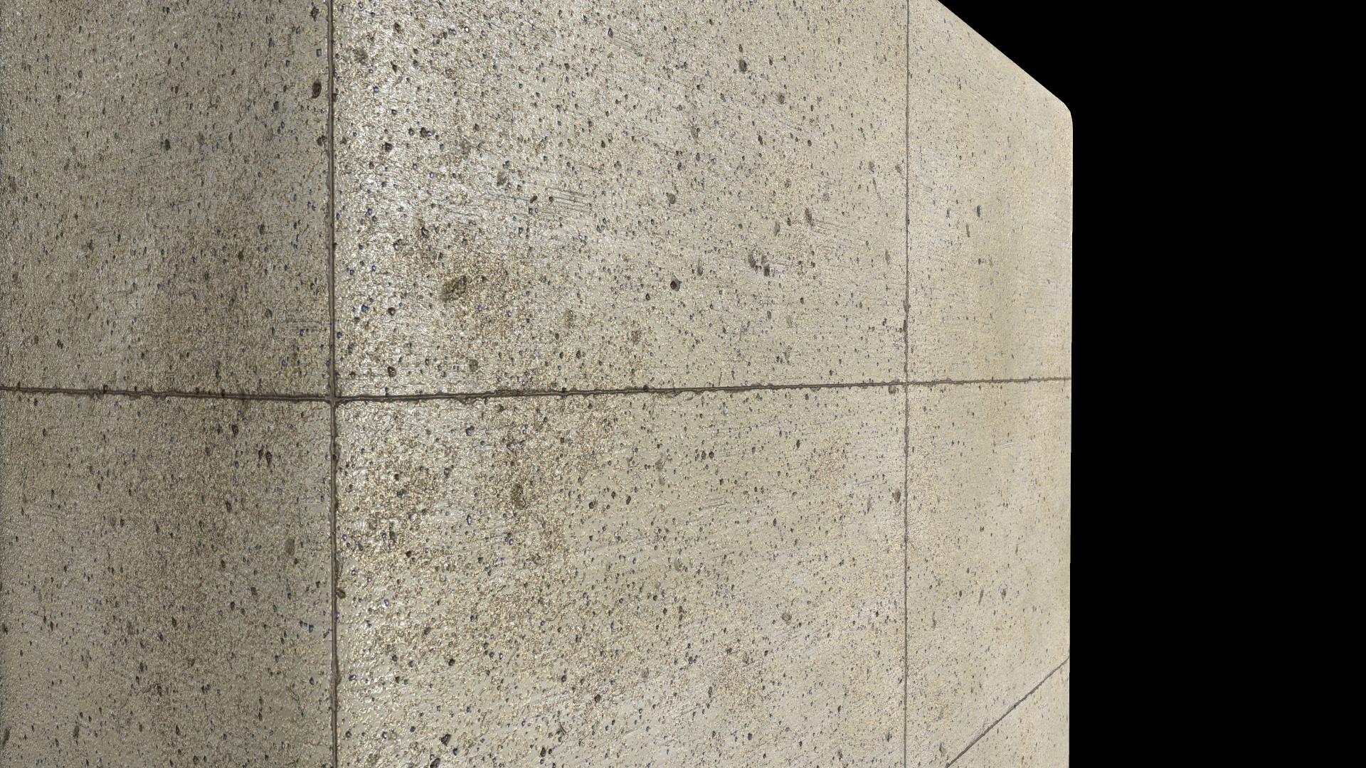 Concrete tiles - up close