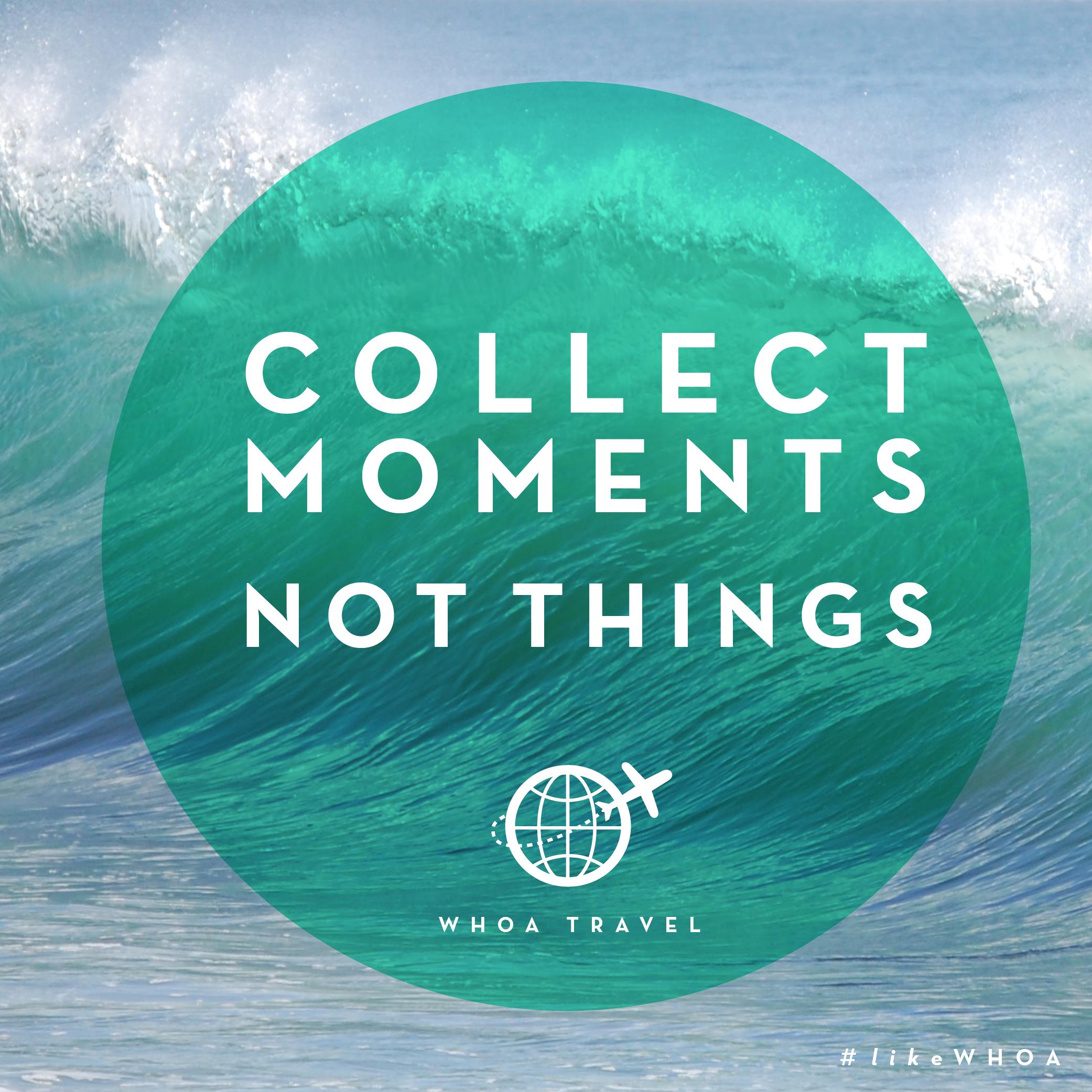 WHOA travel inspiration ADVENSPIRATION moments