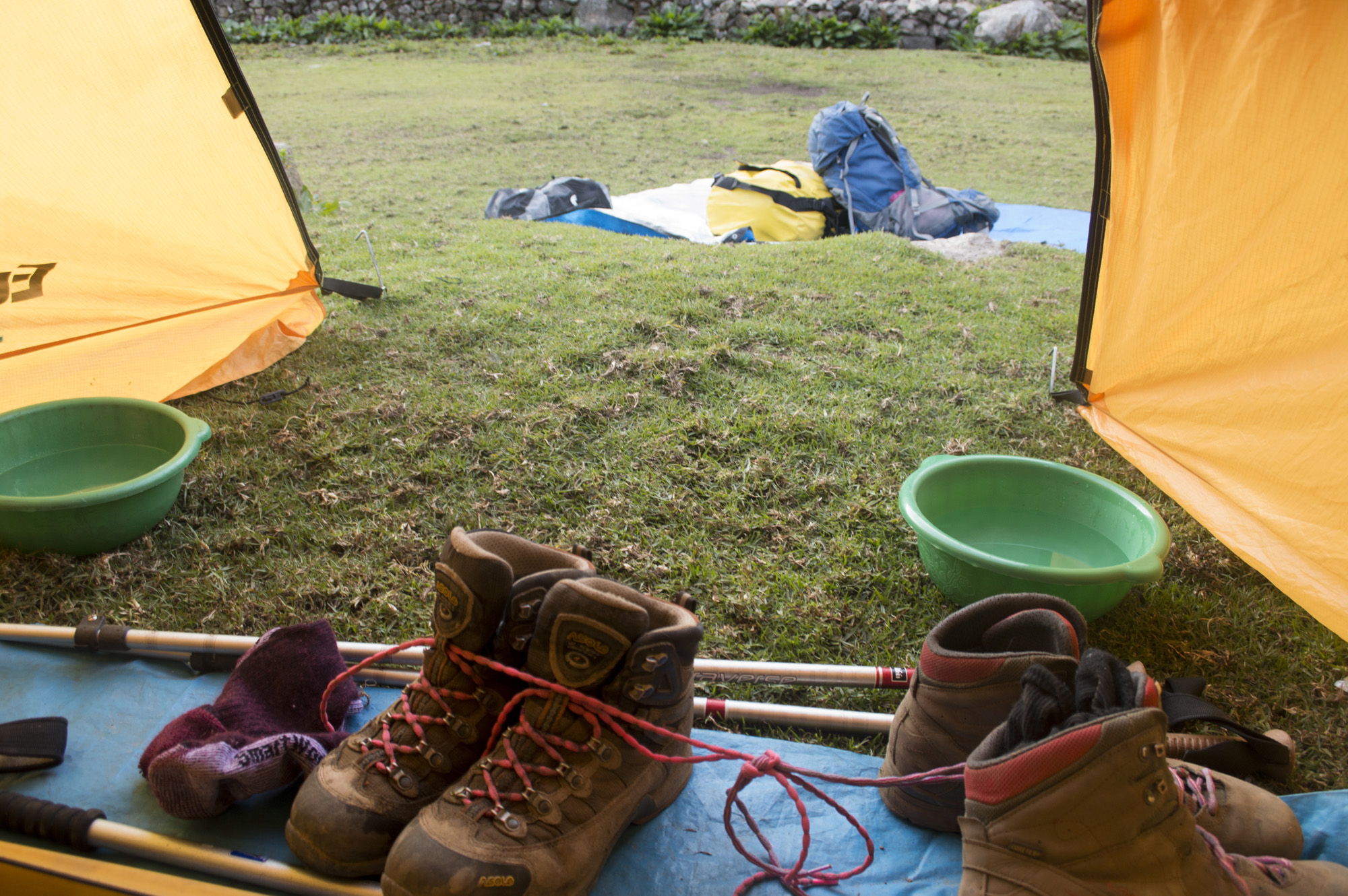 Inca 2 boots tied at campsite.jpg