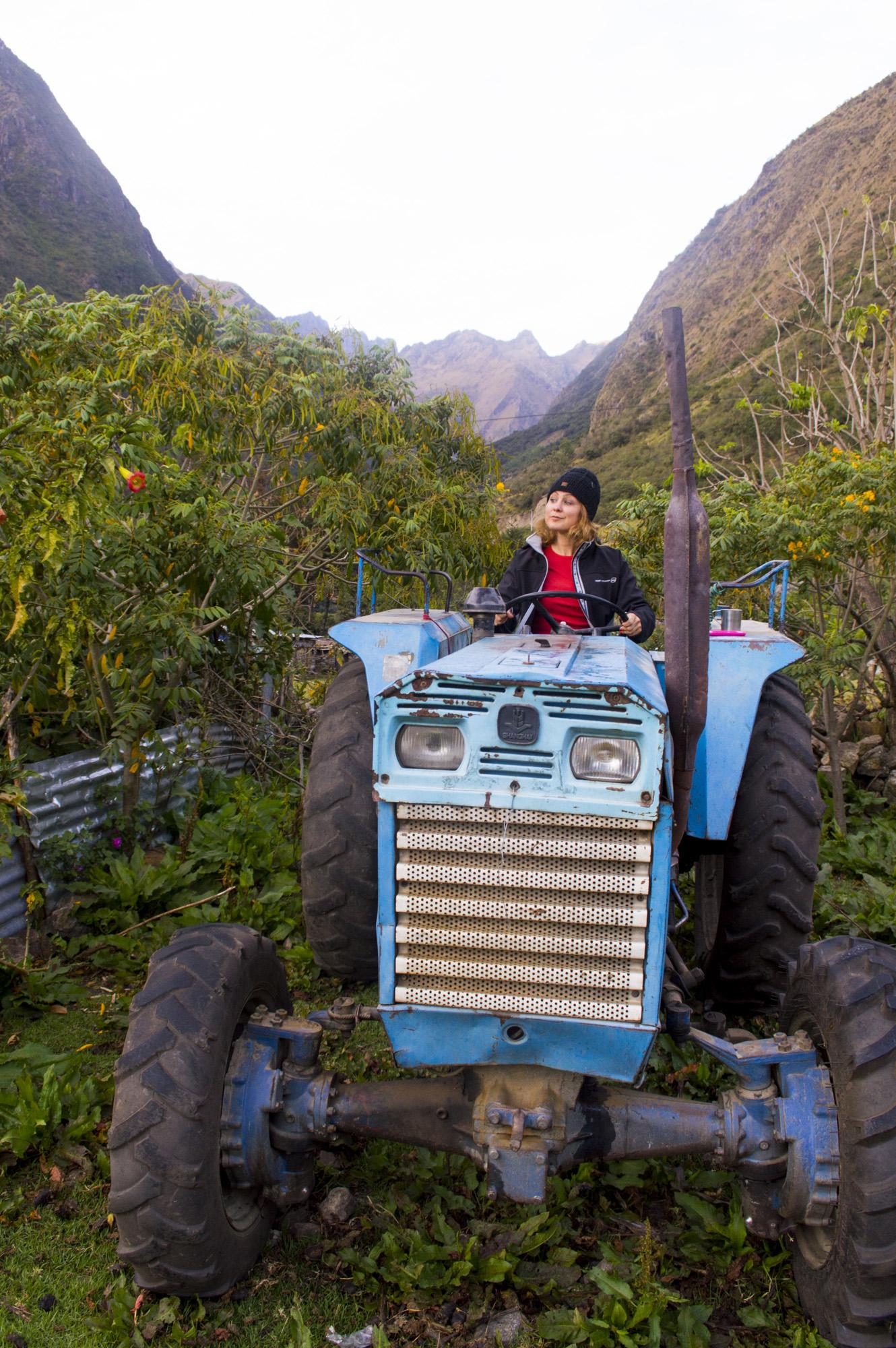 Inca 2 kris on tractor.jpg