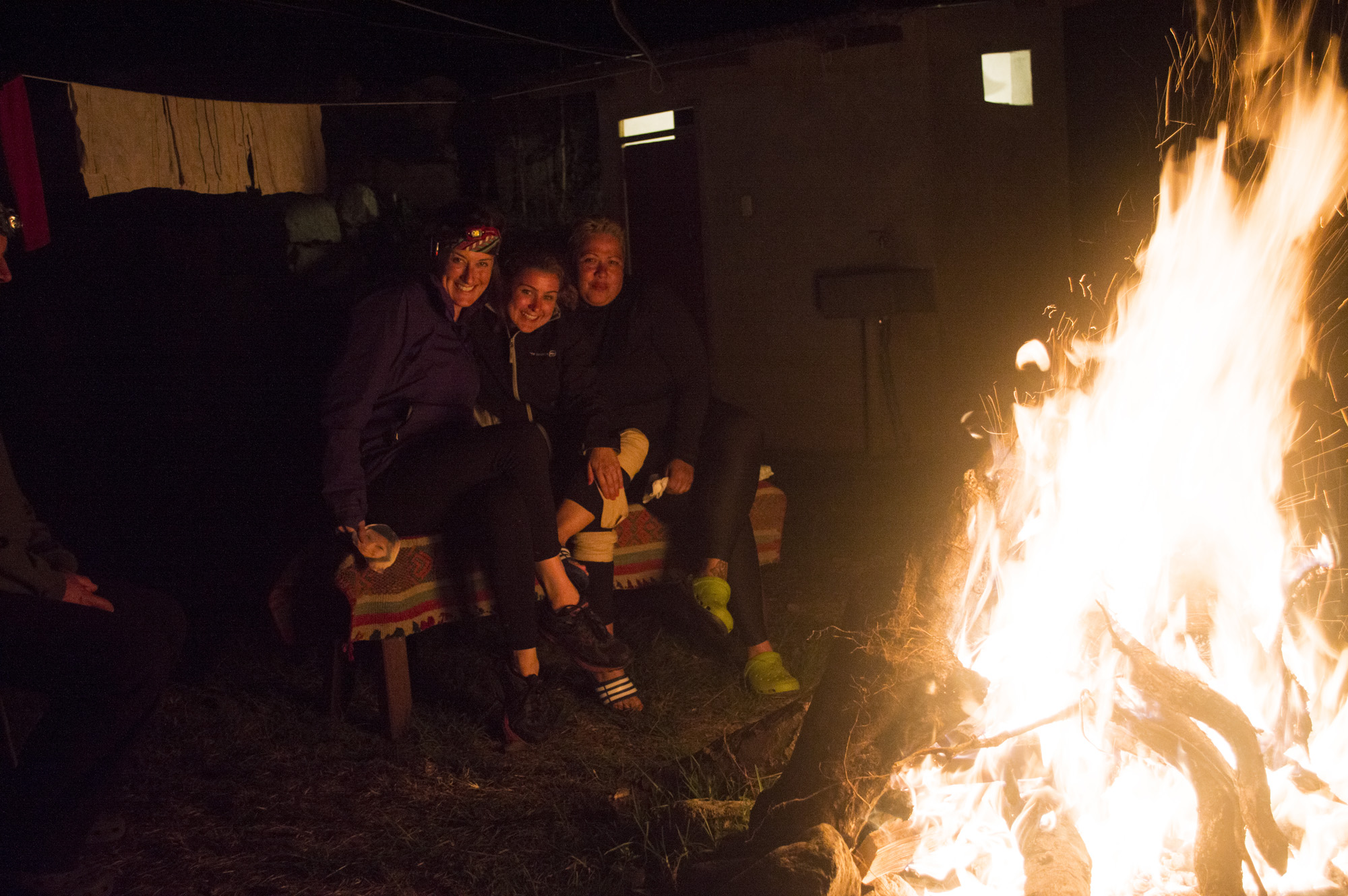 Inca 3 dan, kris and dor around fire.jpg