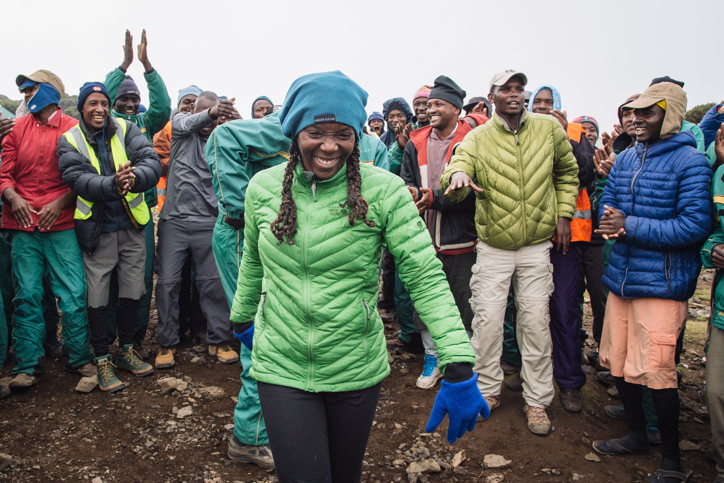 Get to know the other trekkers and your crew - You're all taking an incredible journey - one that's made exponentially better because you're sharing it with each other. Don't forget that together, you have a collective strength that will get you through even the toughest times!