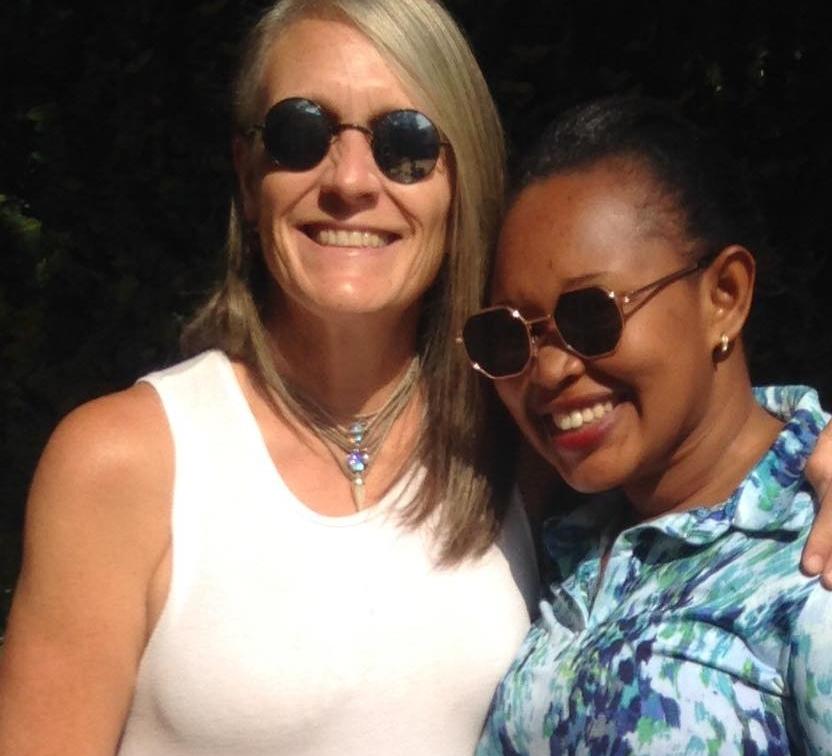 Karen, our Tanzanian WHOA GAL,and Isha