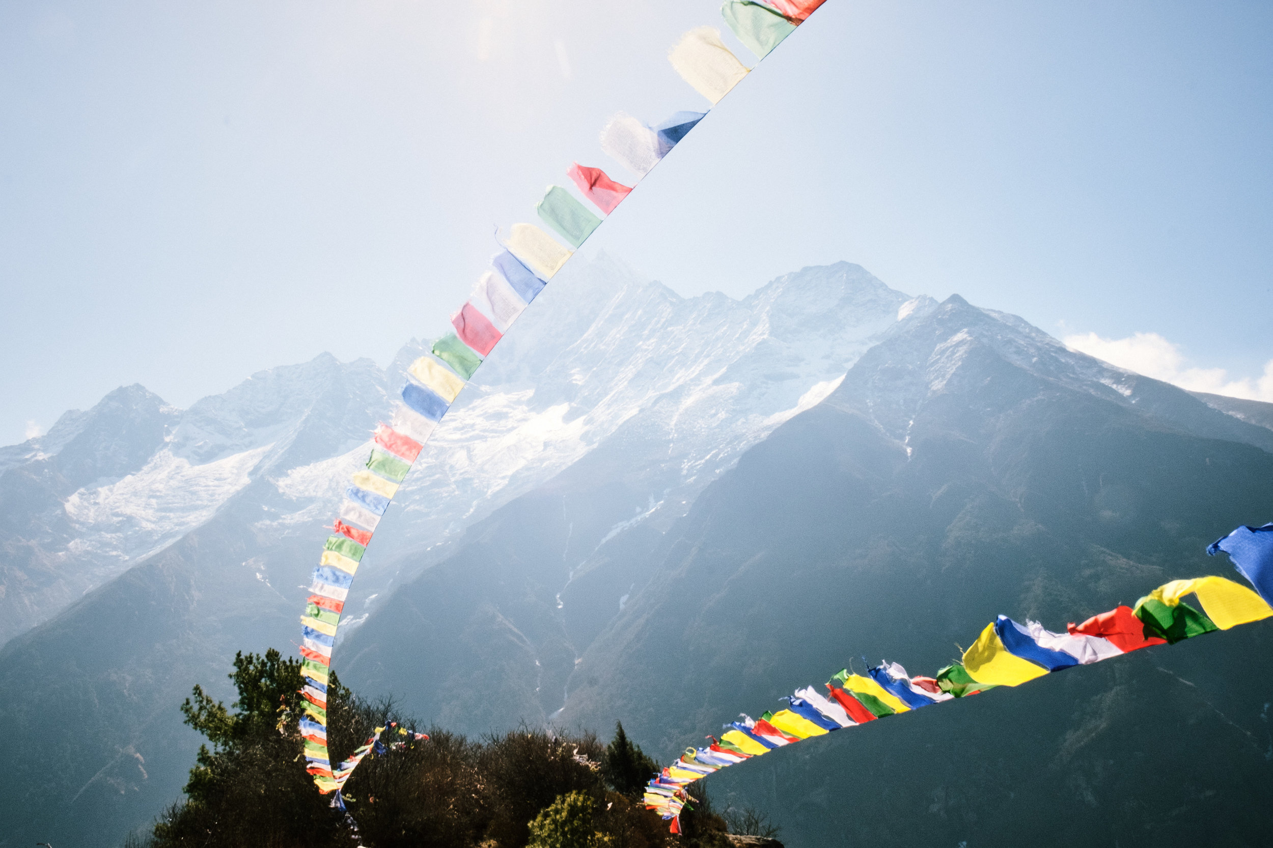 DAY 5:COMIN' ROUND THE MOUNTAIN - NAMCHE to DEBOCHEElevation: 3,445 - 3,735 mDistance: 12 km