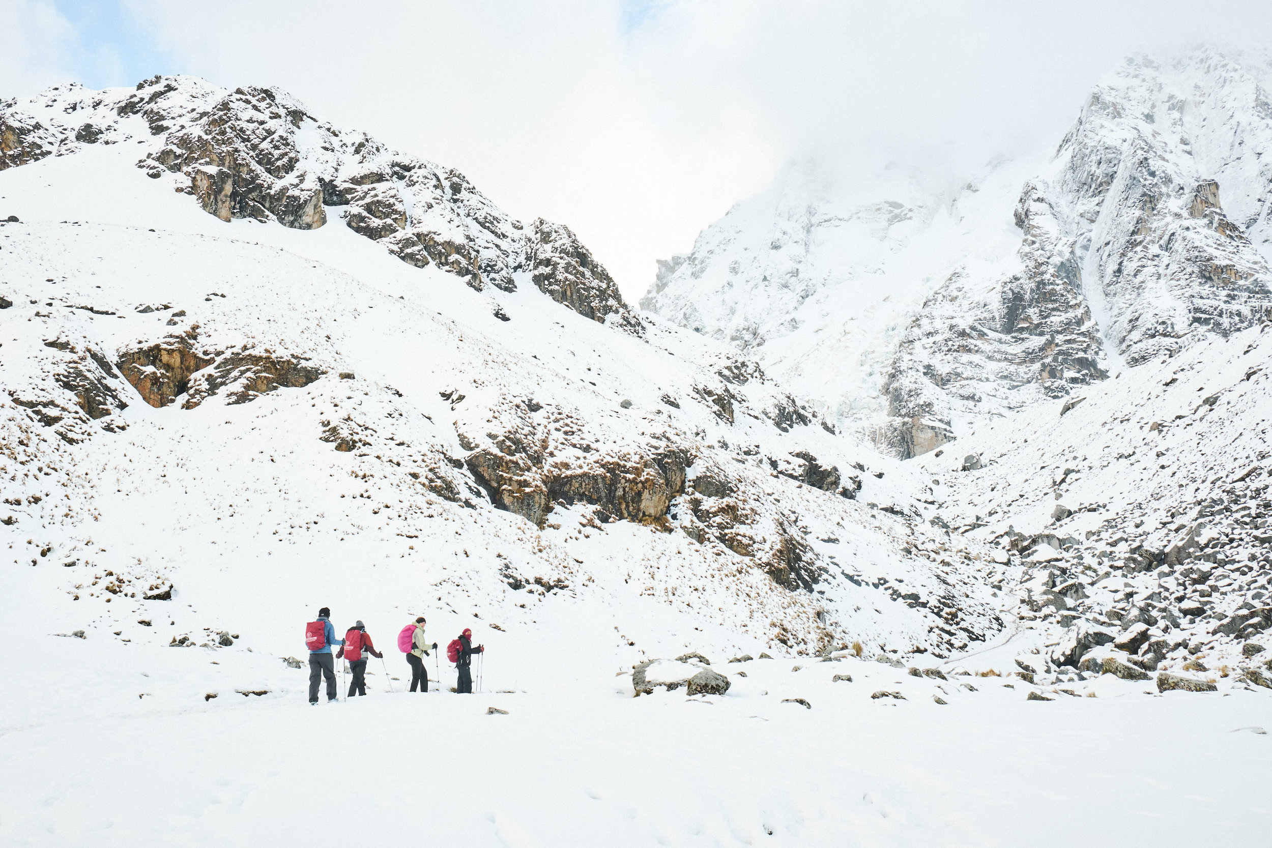 DAY 2: VAMANOS! - CUSCO to SORAYPAMPA to SOIROCOCHAElevation: 3,400 - 3,900 - 4,400 mHiking Time: 4 - 5 hoursDistance: 9 km