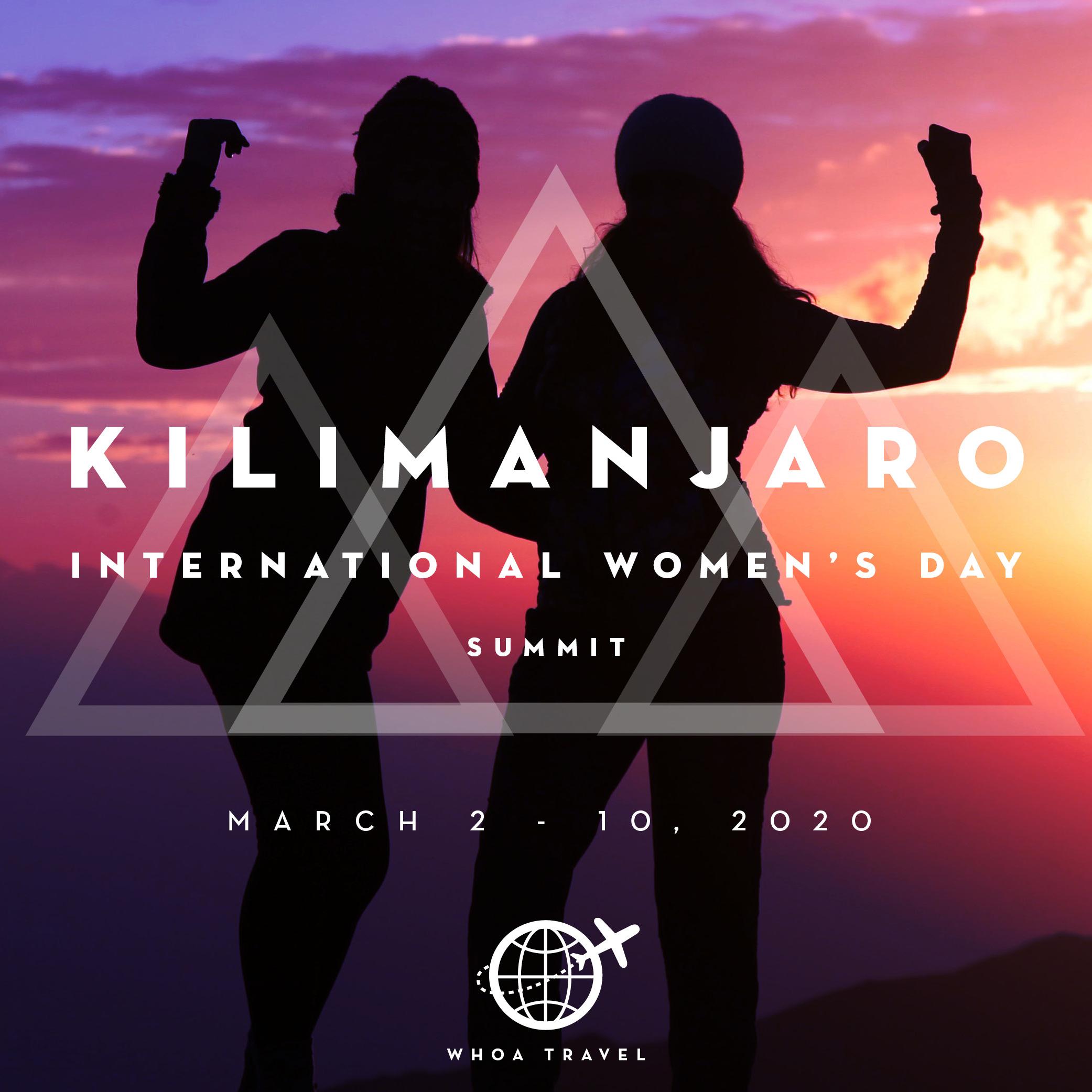 MARCH 2 - 10 - 2020KILIMANJARO: INTERNATIONAL WOMEN'S DAYfrom $3,650
