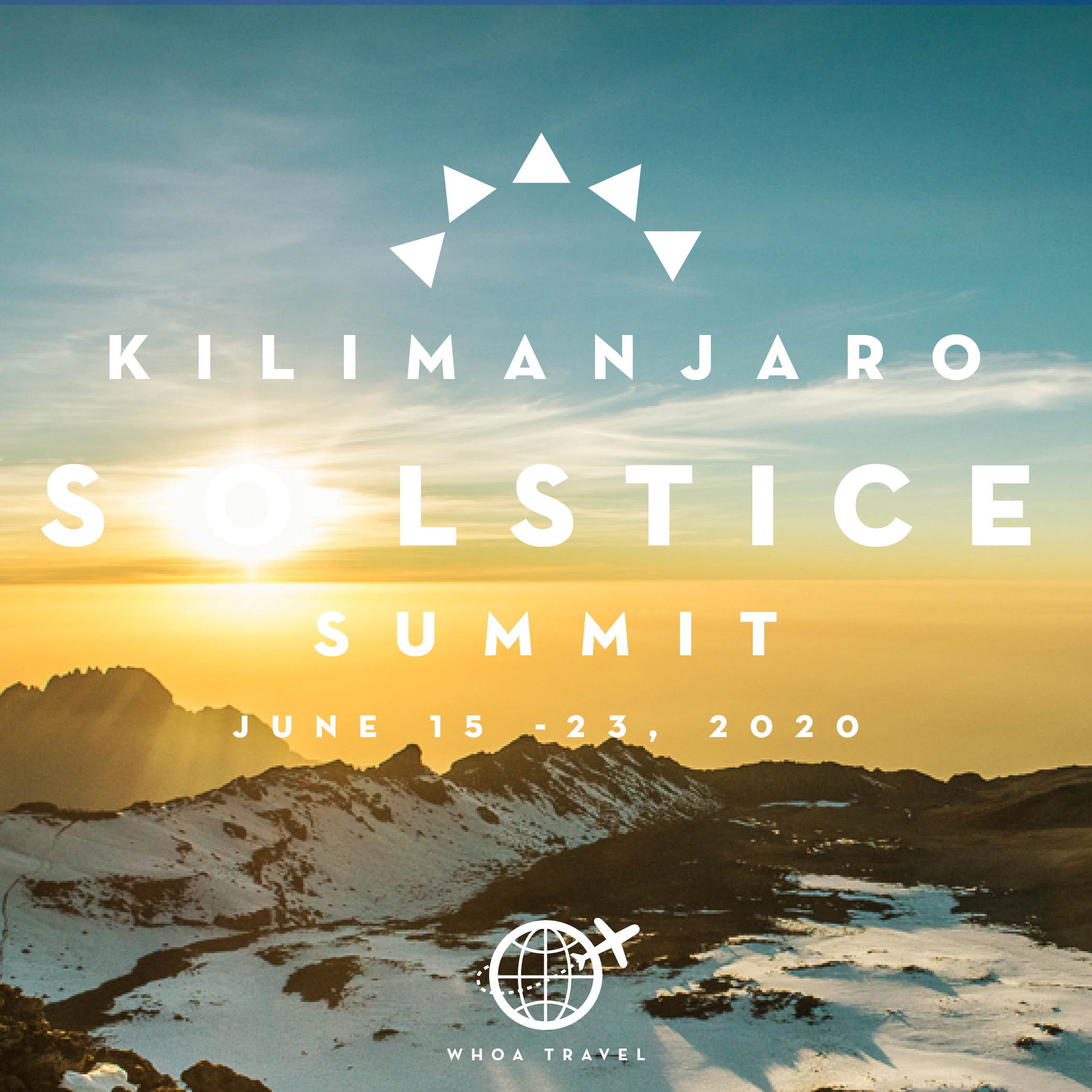 JUNE 15 - 23 - 2020KILIMANJARO: SOLSTICE SUMMITfrom $3,650
