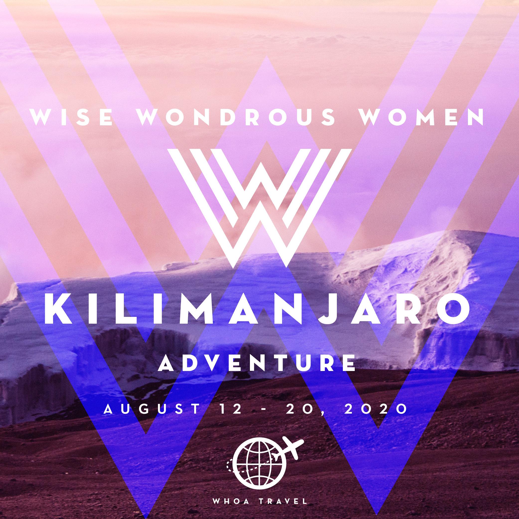 AUG 12 - 20 - 2020KILIMANJARO: WISE WONDROUS WOMEN 50+ ADVENTUREfrom $3,650