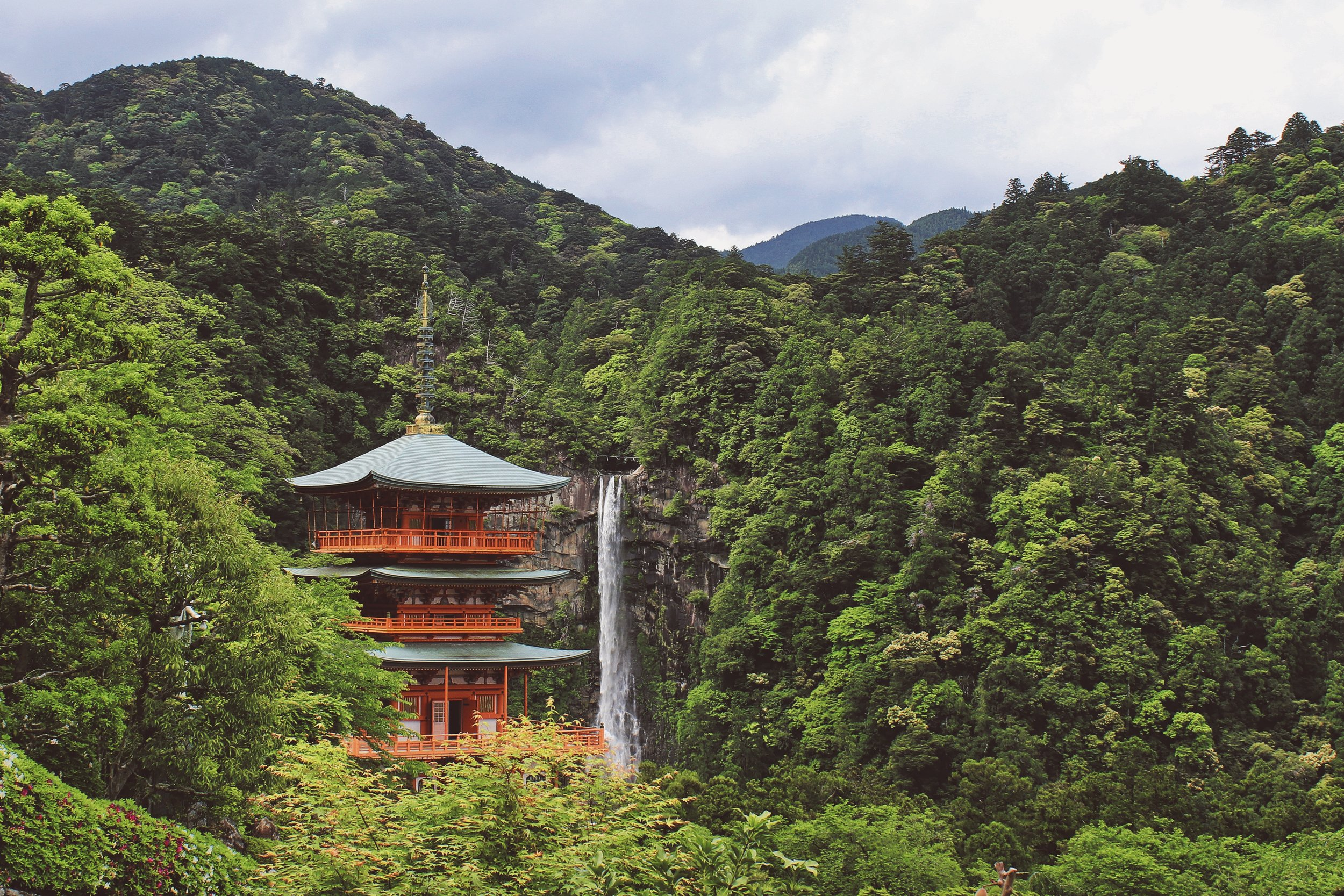 DAY 8:CHASING WATERFALLS - HONGU to NACHI