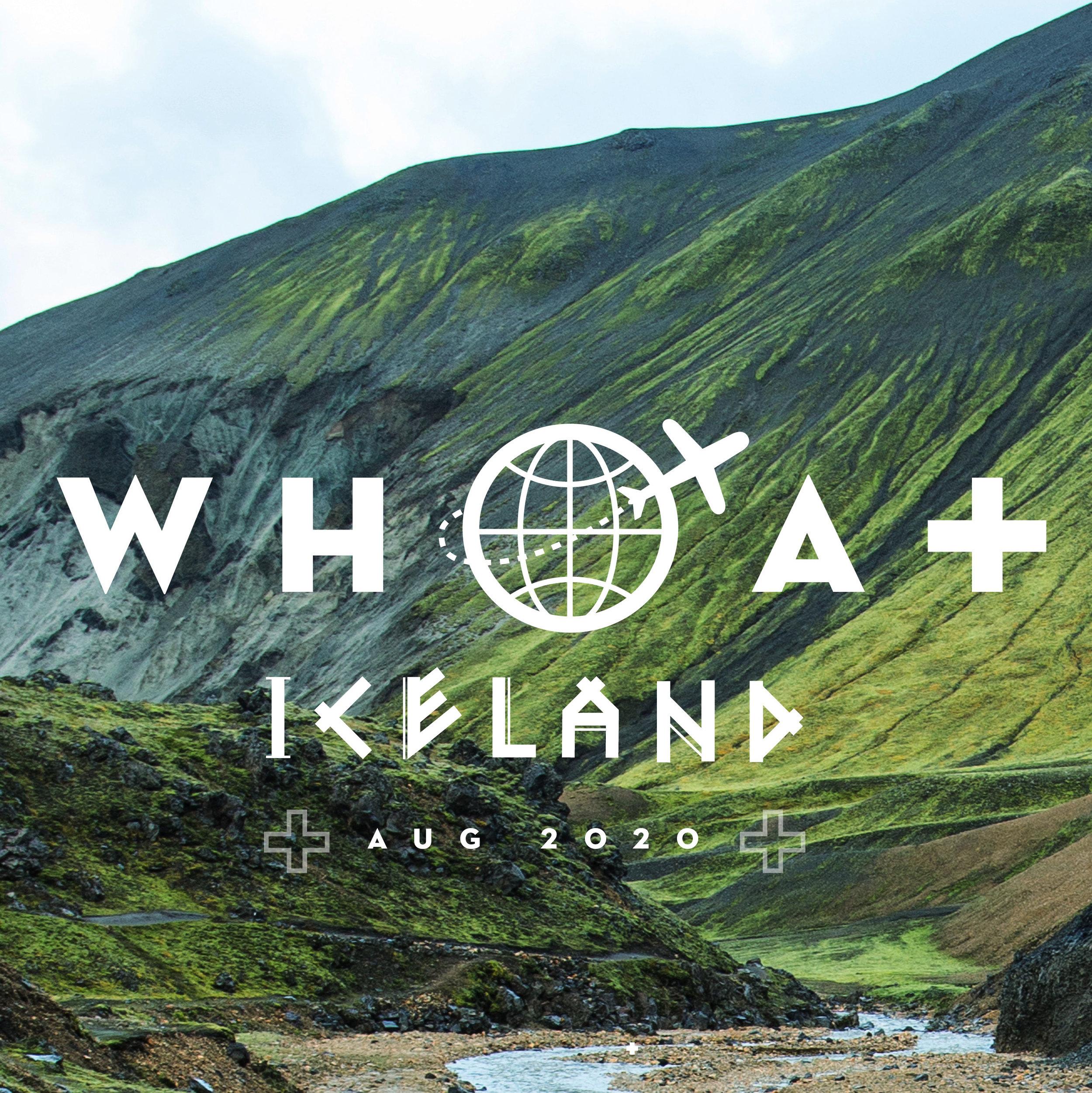 AUG 8 - 14 - 2020WHOA plus: ICELAND$3,850