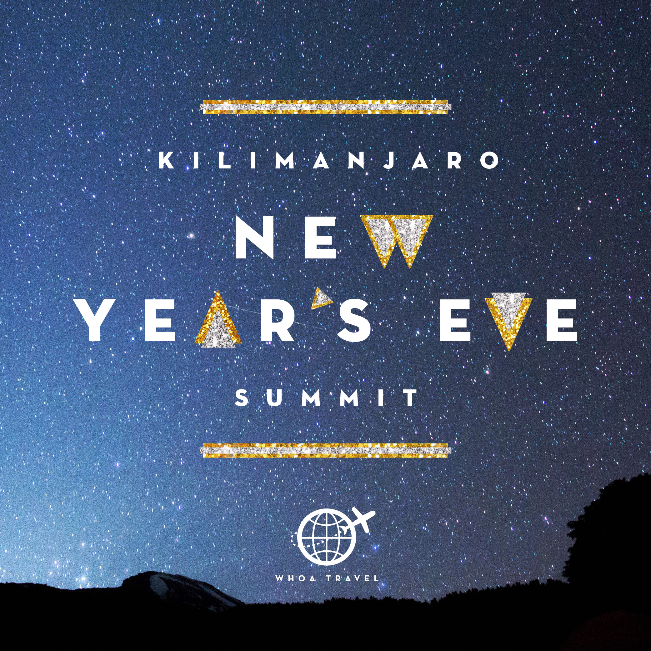 DEC 26 - JAN 3 - 2020 - 2021NEW YEAR'S EVE SUMMIT Ring in 2021on the Roof of Africa