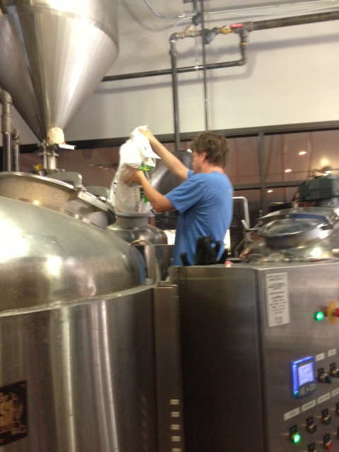 Brewing at Fate Brewing Company