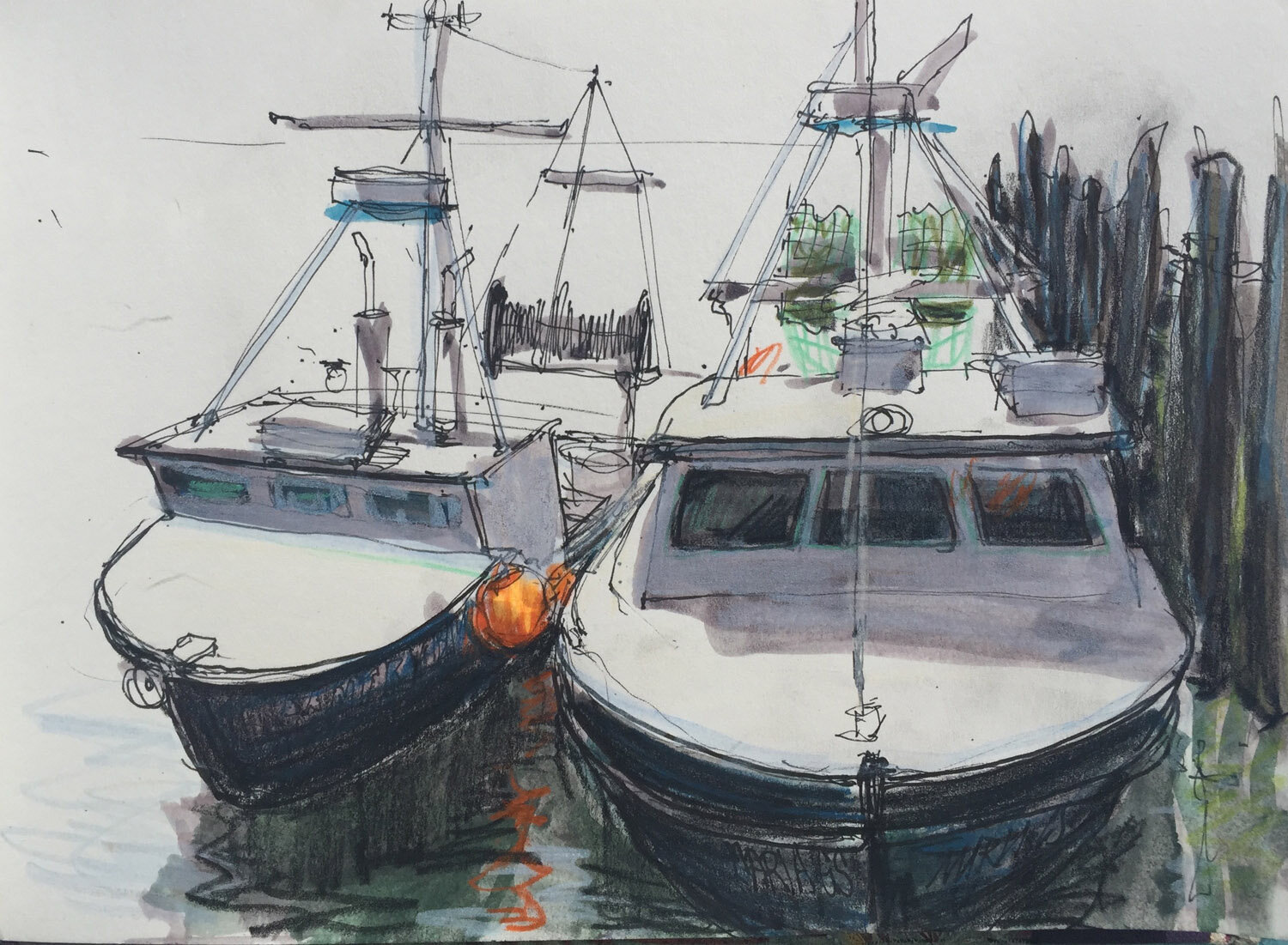 Gloucester Fishing Boats