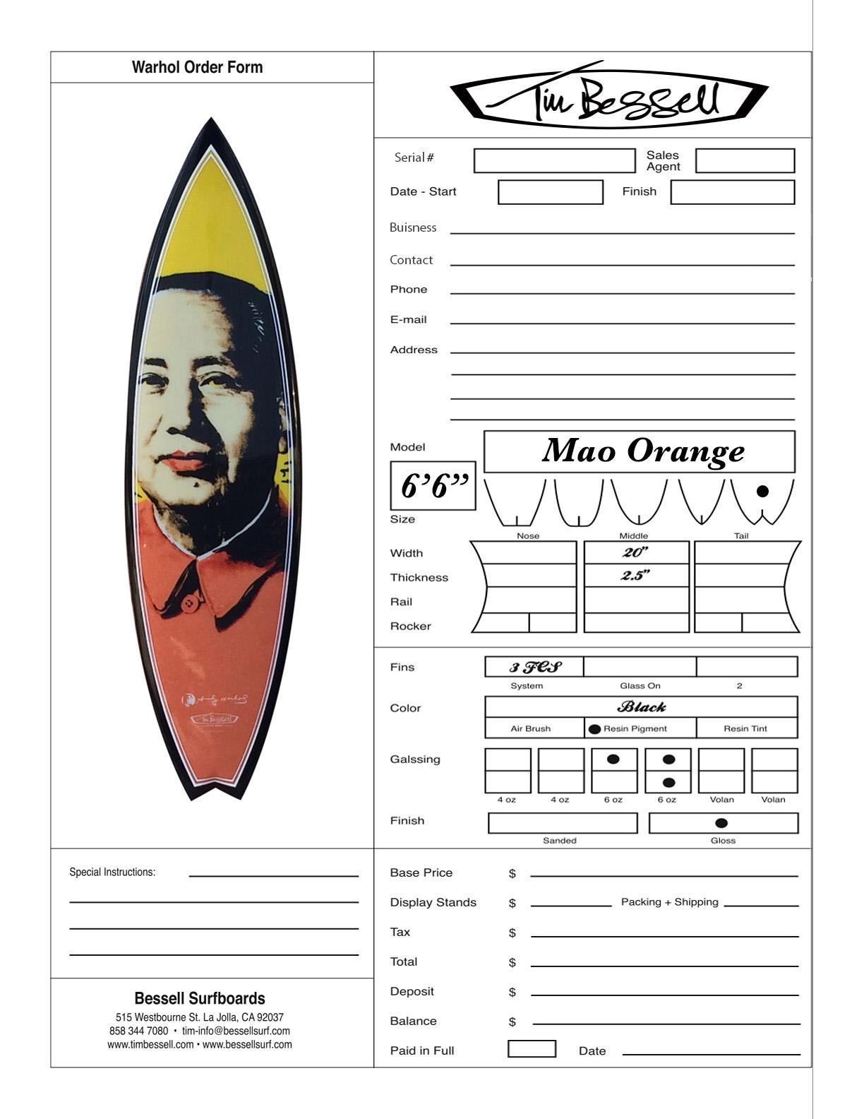 "Click Here For ""Mao Orange"" Order Form"