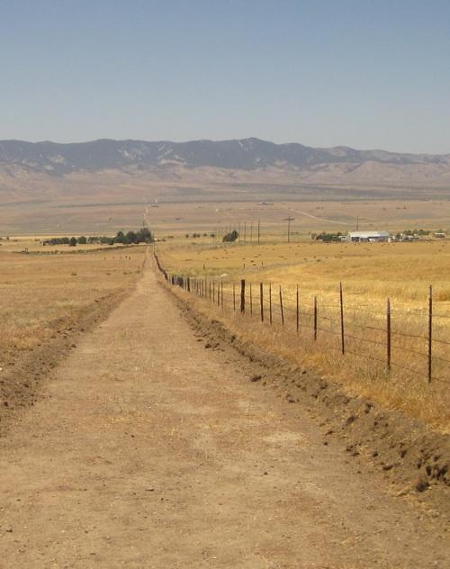 Mojave desert hiking.