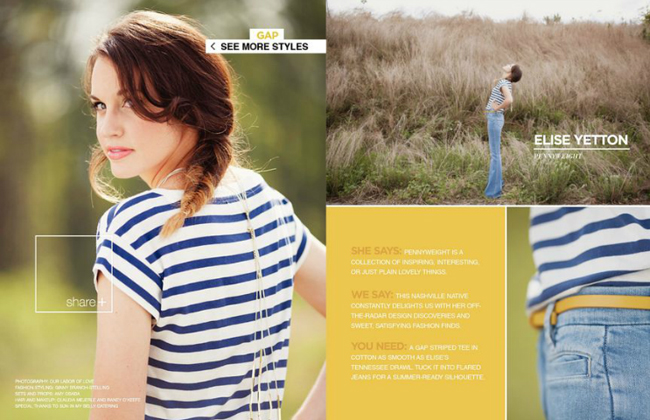 Rue Magazine - Gap Styld.by - Issue 11
