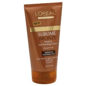 loreal sunless tanner sublime bronze.jpg
