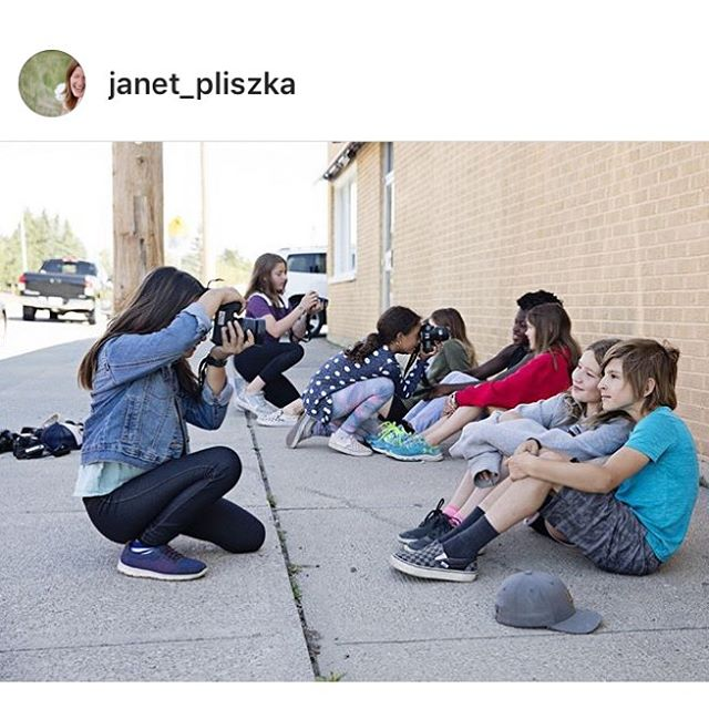 The kids in this weeks Photo Camp with @janet_pliszka got to play with some great locations in our amazing neighbourhood @sprucecliffca