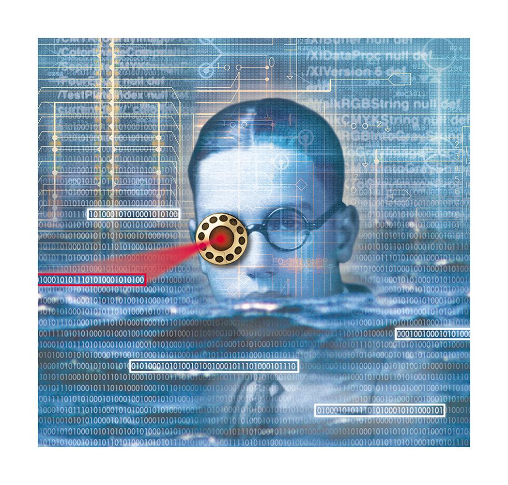 Security Management Magazine Illustration