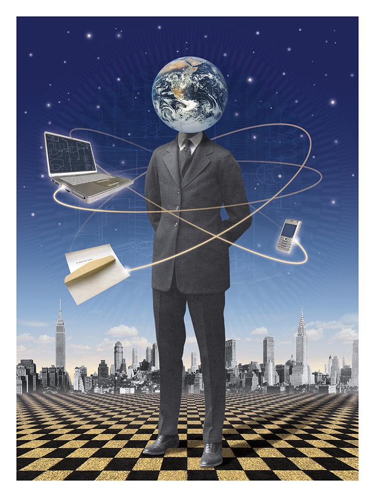 Network World Magazine Illustration