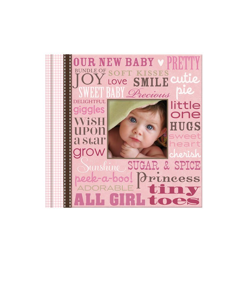 baby girl photo album