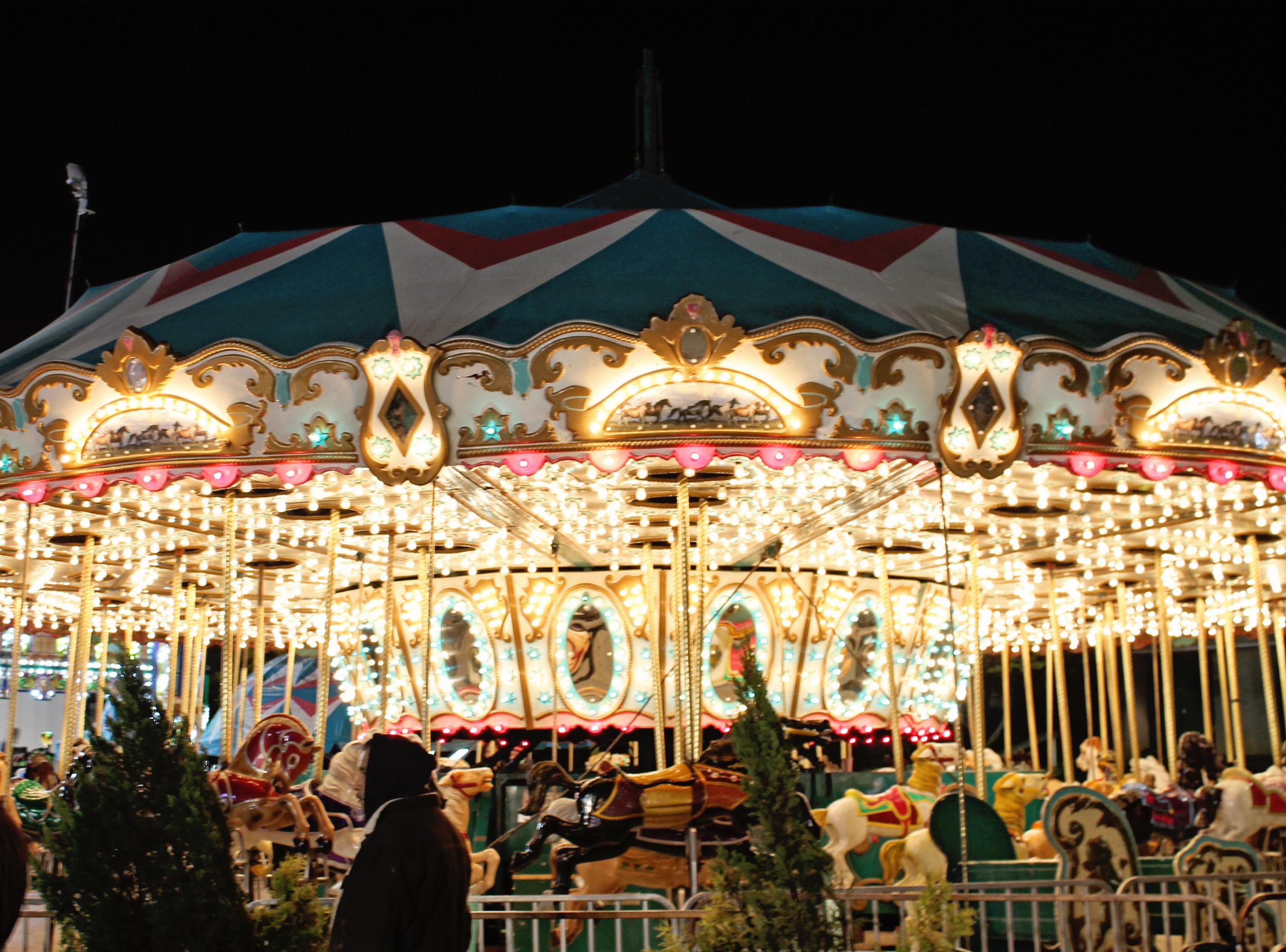 NC State Fair Carousel