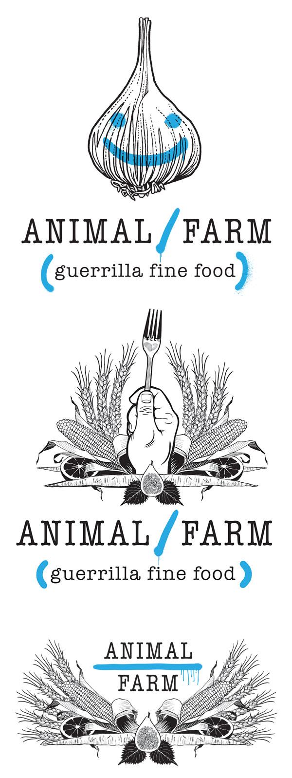 Graphics for Animal Farm Food Truck
