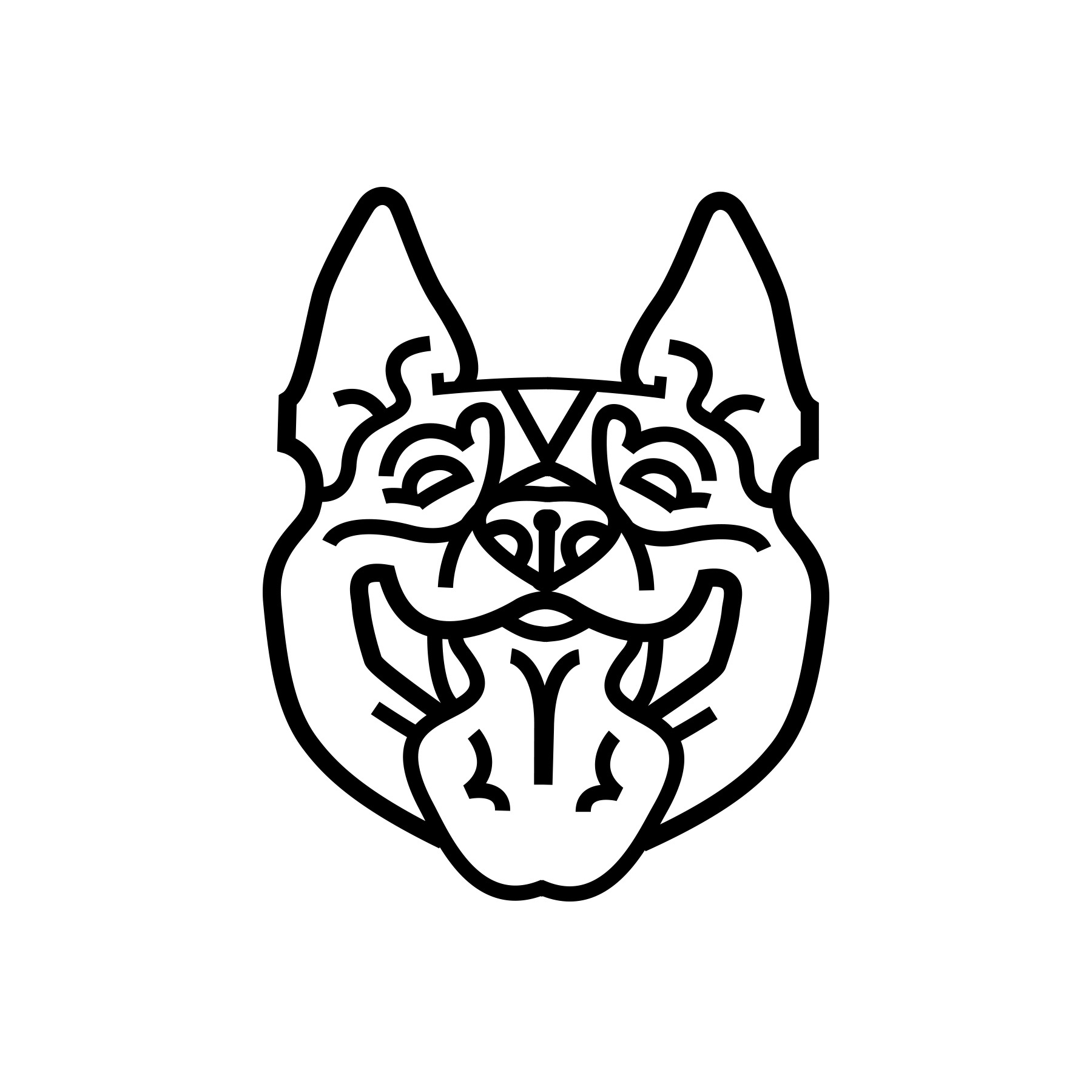 Logo and Headbadge graphic for Tucson based Heeler Cycles