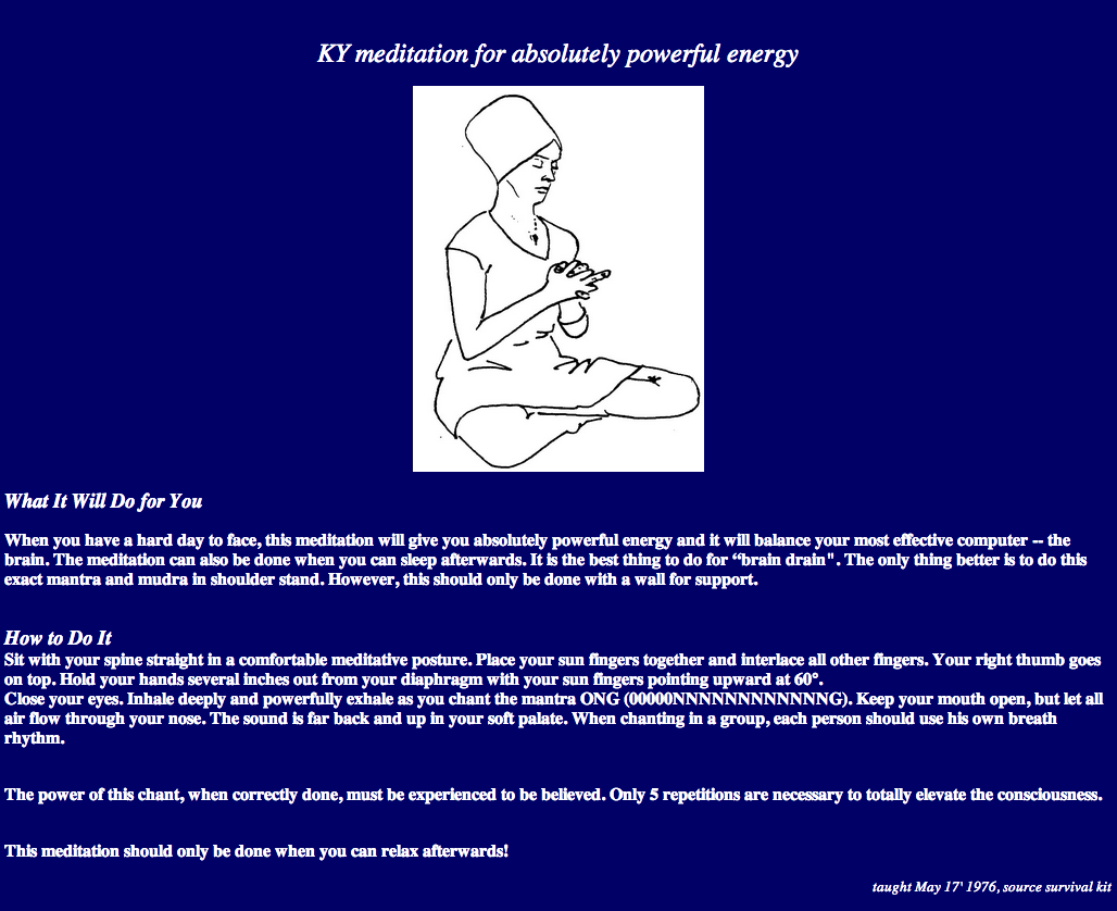 powerful energy meditation