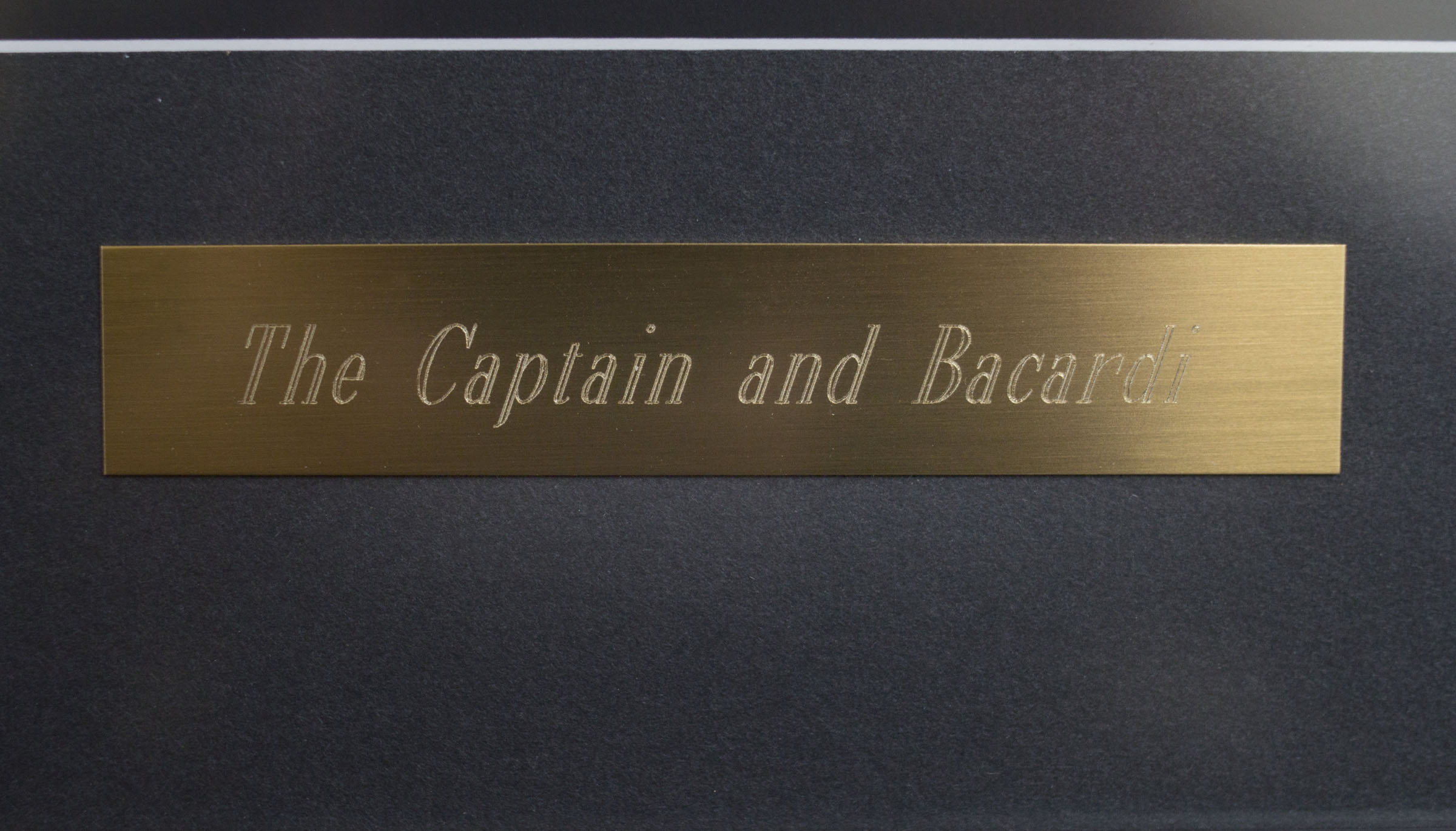 Copy of Copy of Brass engraved name plate
