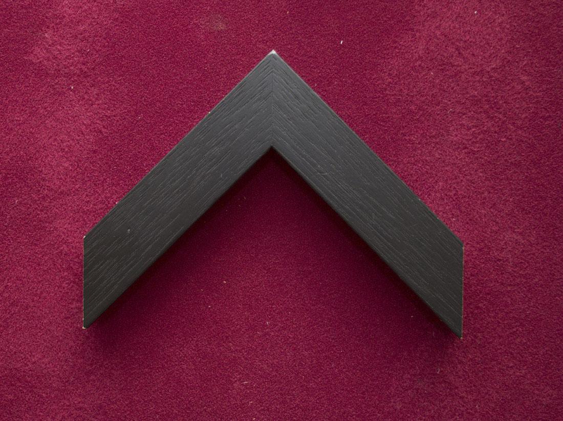 Standard black frame.