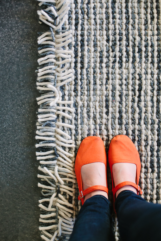 We ended up finding this rug and our nursery rug on Rugs USA (This rug is no longer available, but click the photo to visit their site). They have incredible sales!