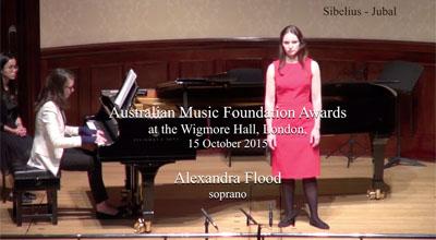 Alexandra Flood (soprano) -  Sibelius  - Jubal