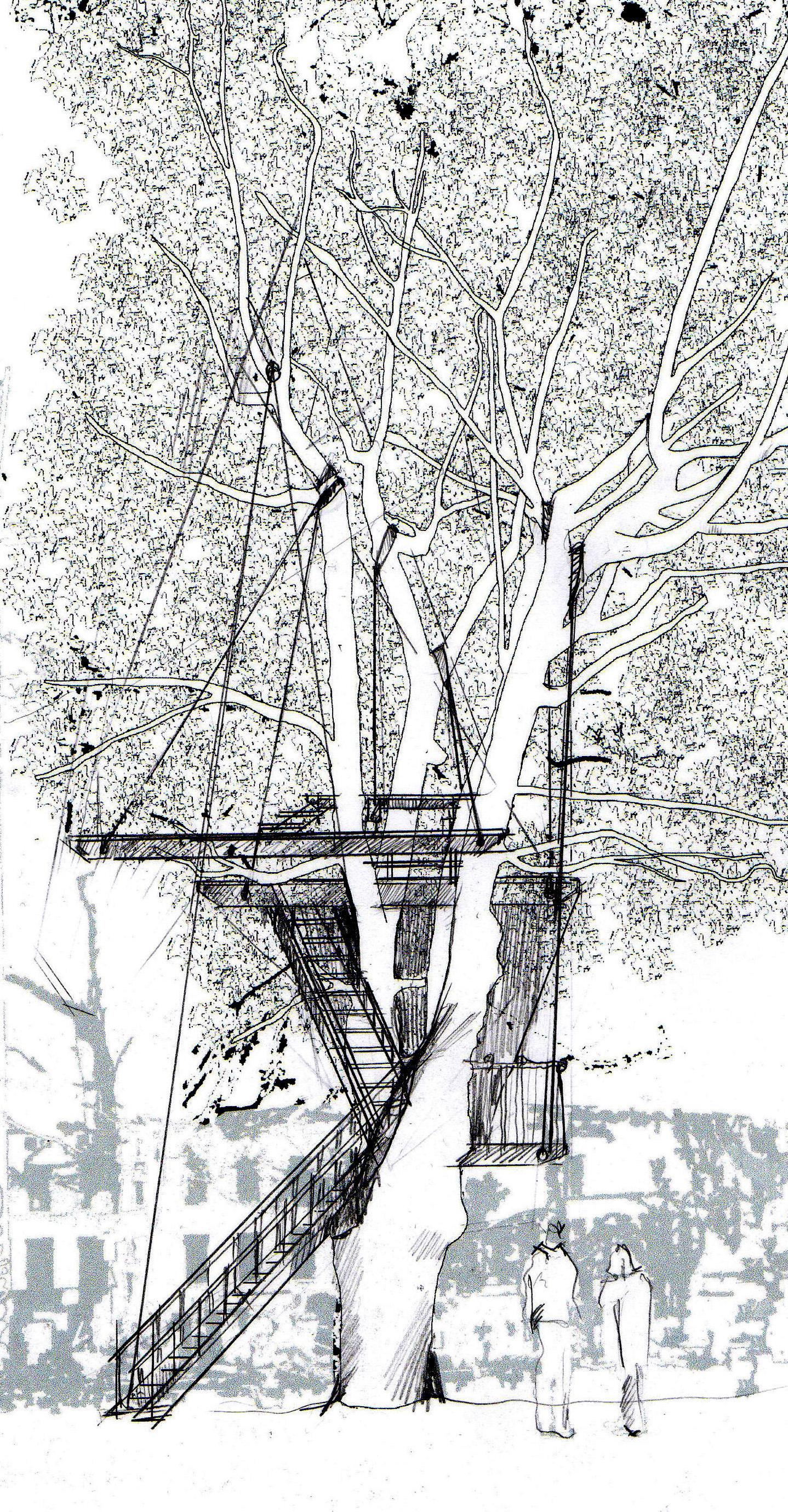 ARCHITECTUAL DRAWING: NANGO, TALLERAAS og ARNHOFF/FFB