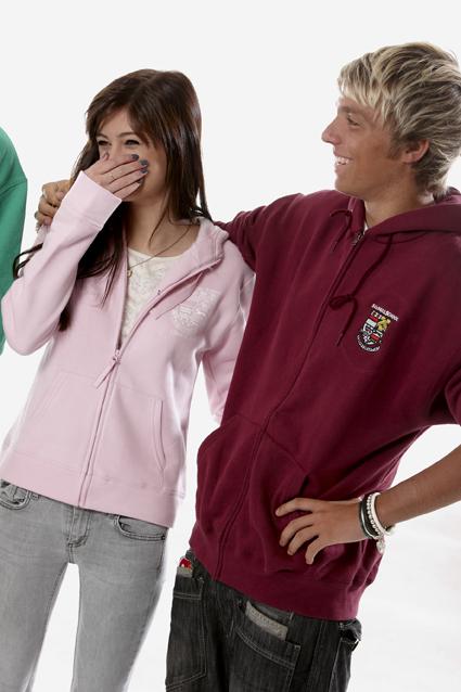 Standard and custom zipper hoodies
