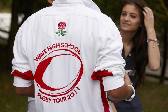 Rugby tour shirt