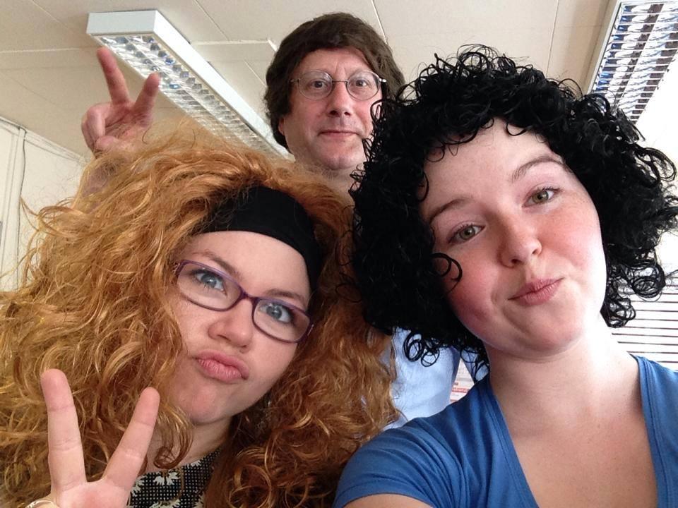 Wig Wednesday 2014 selfie at WavePrint!